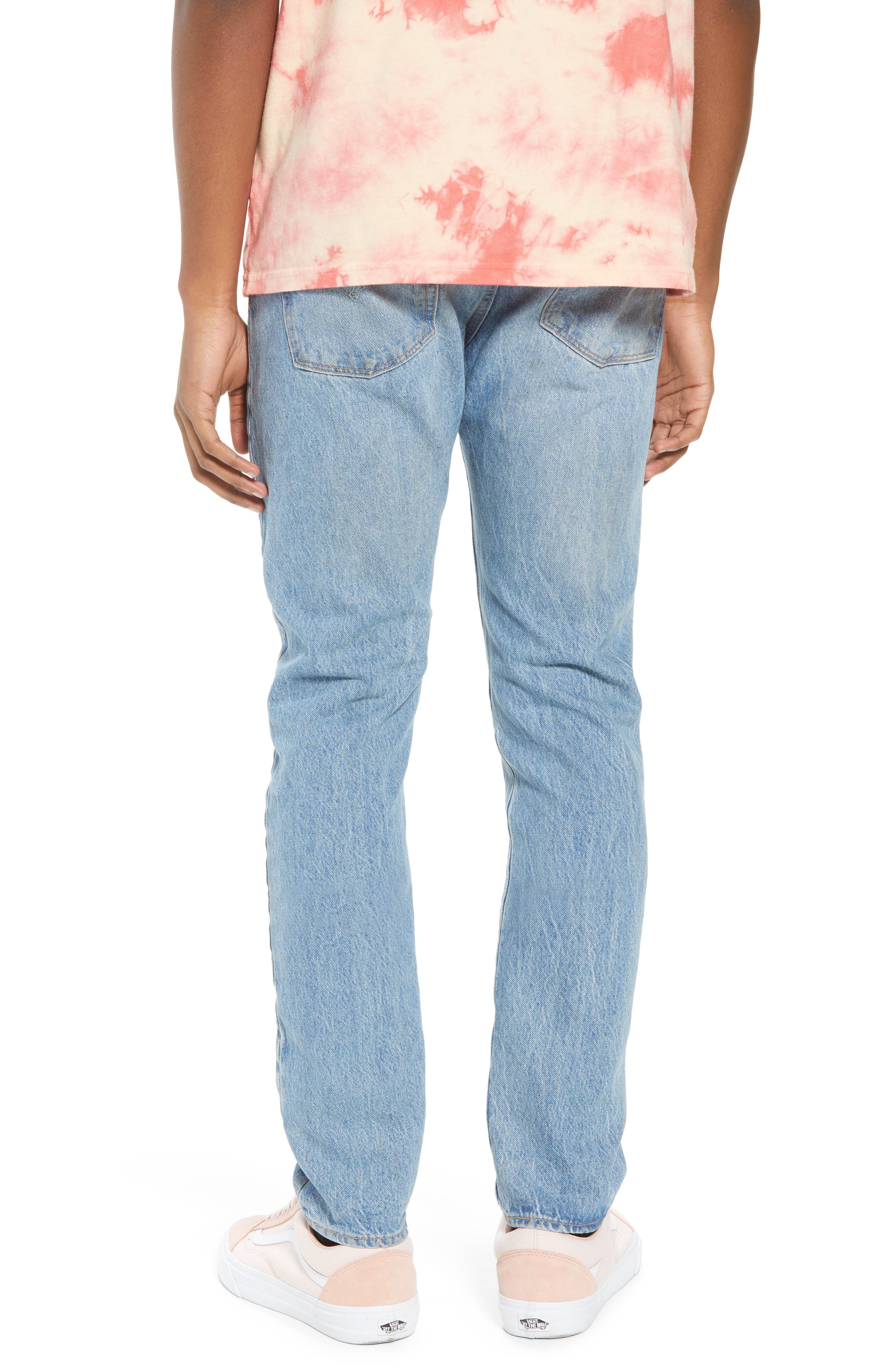 LEVI'S<SUP>®</SUP>, 510<sup>™</sup> Skinny Fit Jeans, Alternate thumbnail 2, color, MONKEY