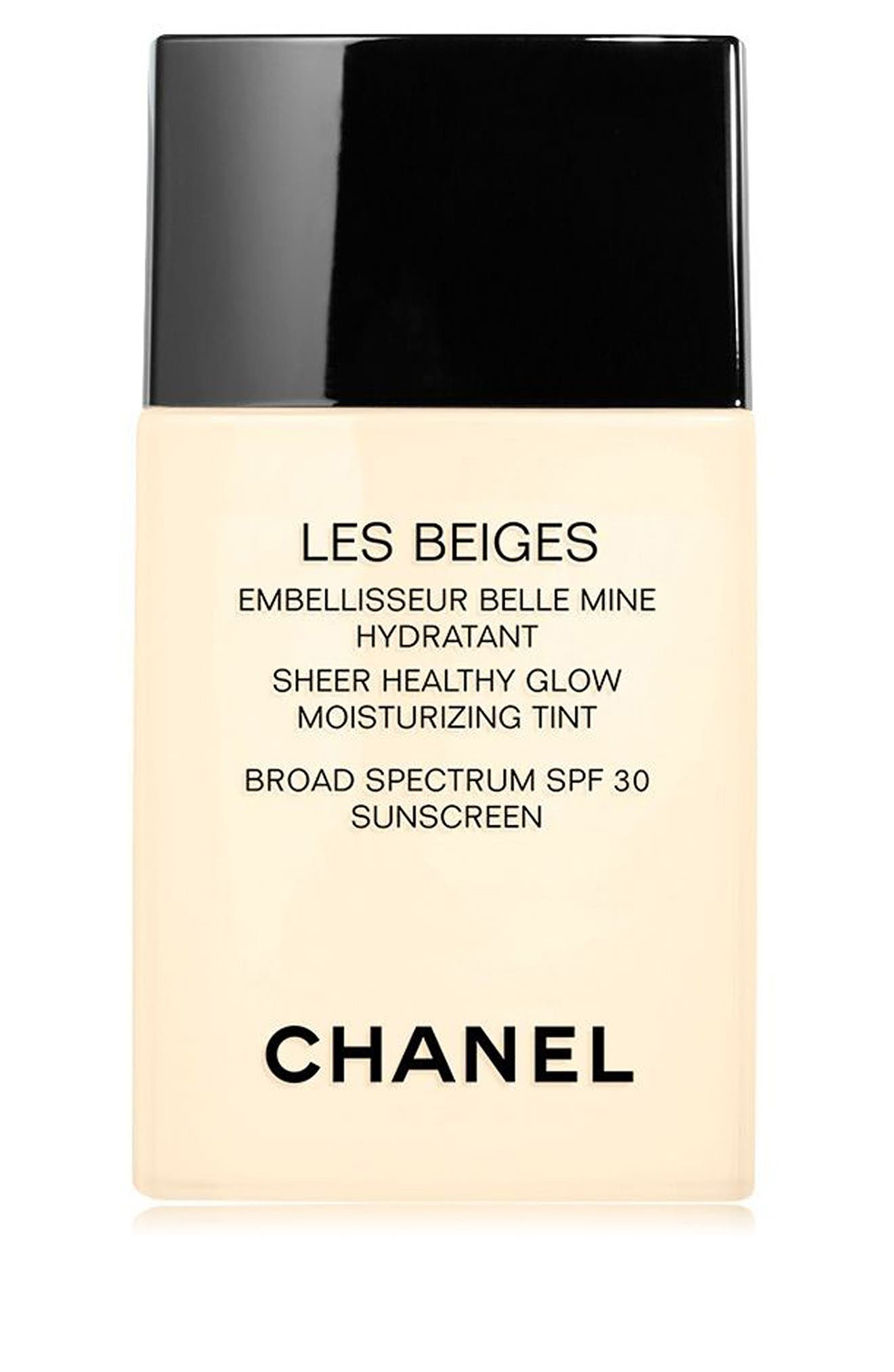 CHANEL LES BEIGES SHEER HEALTHY GLOW<br />Moisturizing Tint Broad Spectrum SPF 30, Main, color, MEDIUM PLUS
