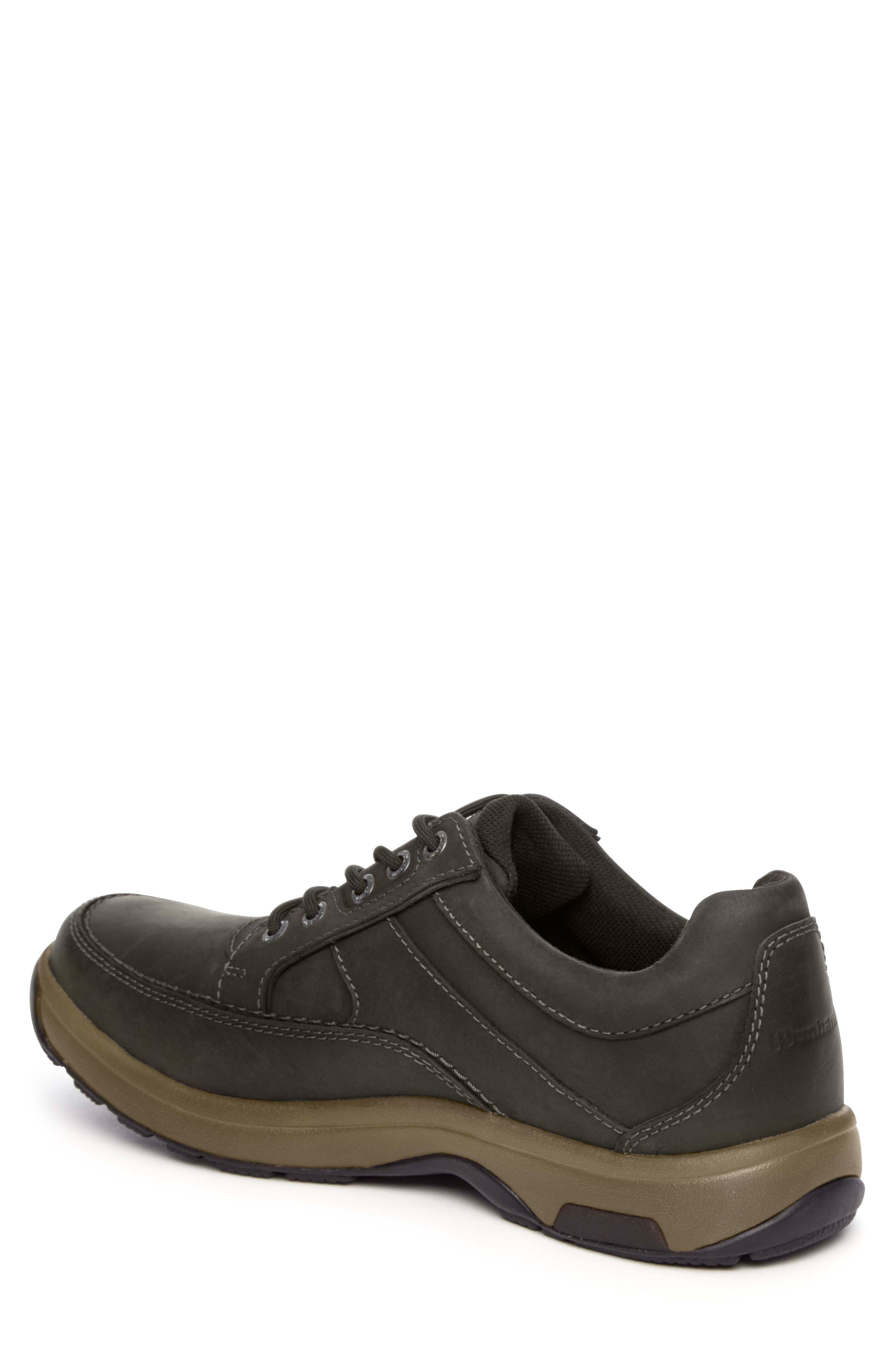 DUNHAM, 'Midland' Sneaker, Alternate thumbnail 2, color, BROWN LEATHER