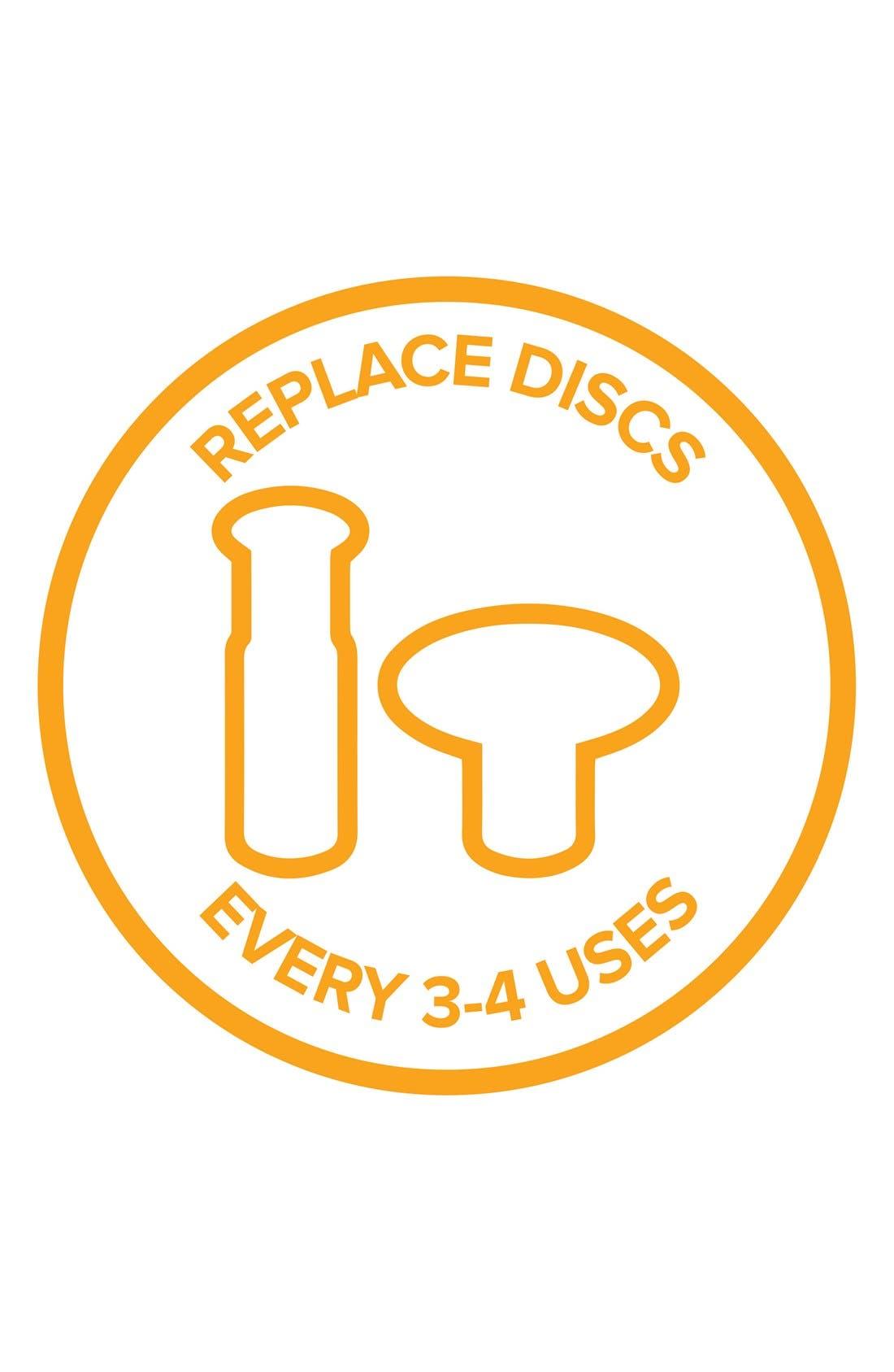 PMD, Orange Coarse Replacement Discs, Alternate thumbnail 4, color, NO COLOR