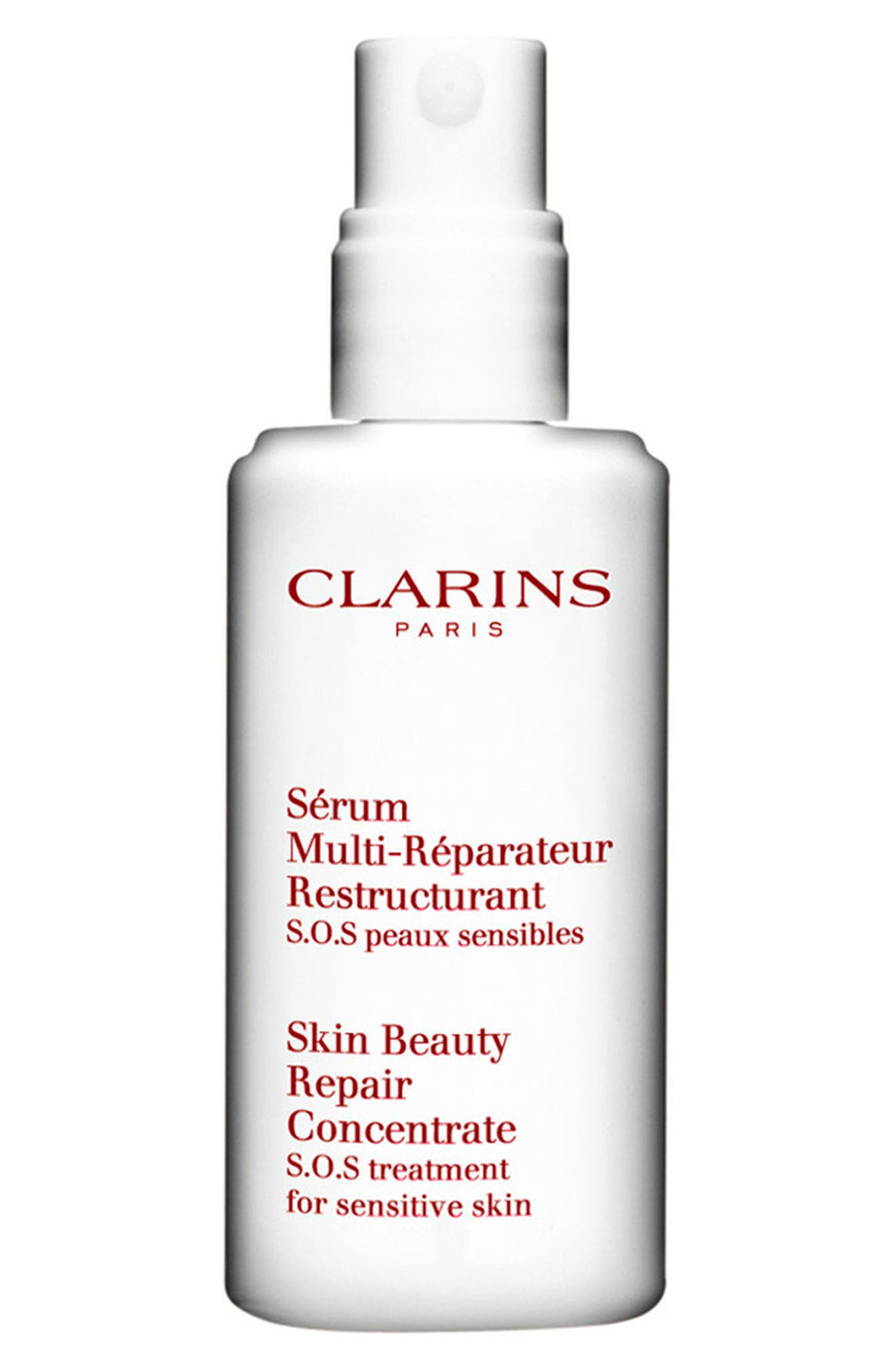 CLARINS, Gentle Care Skin Beauty Repair Concentrate, Alternate thumbnail 3, color, NO COLOR