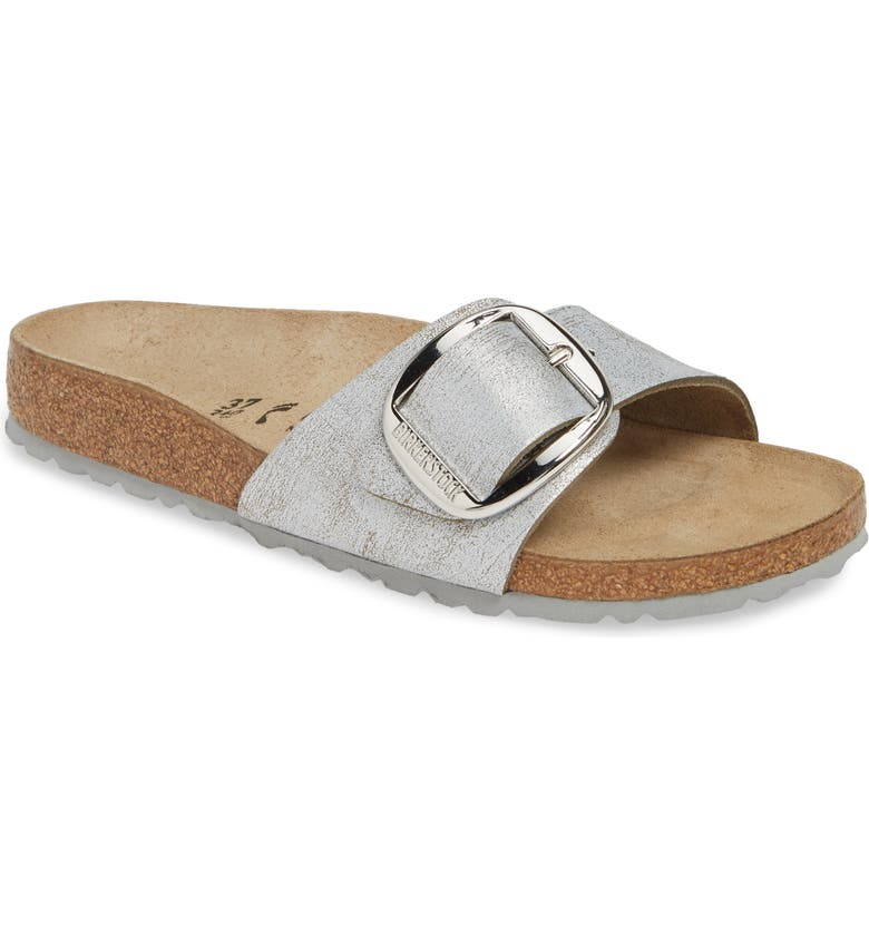 Birkenstock Sandals MADRID BIG BUCKLE SLIDE SANDAL