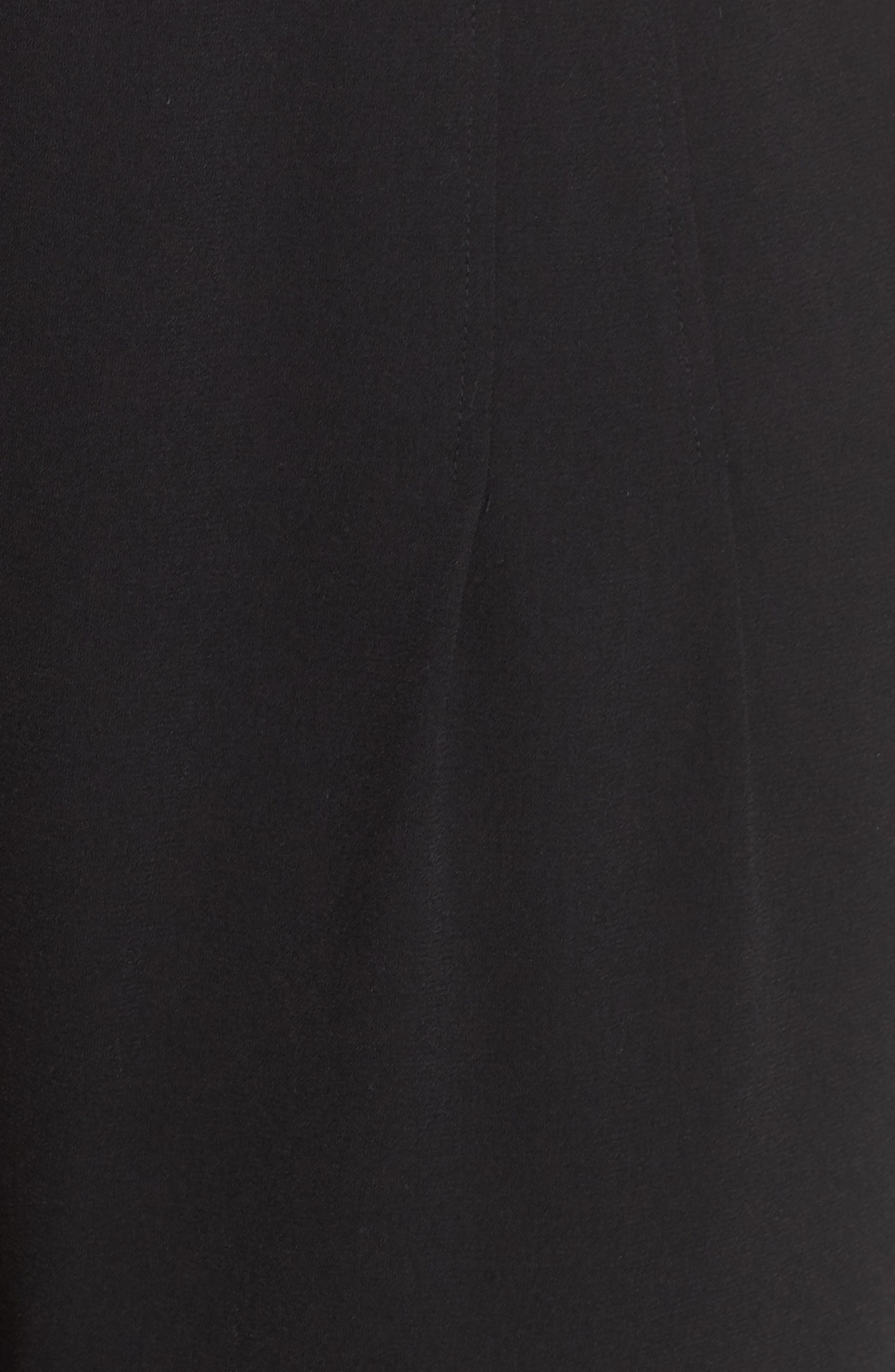 BP., High Waist Soft Wide Leg Crop Pants, Alternate thumbnail 12, color, BLACK