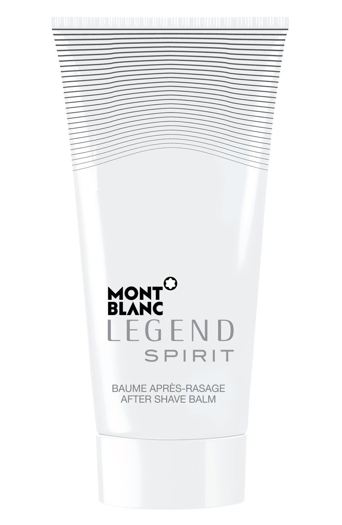 MONTBLANC, 'Legend Spirit' After Shave Balm, Main thumbnail 1, color, 000