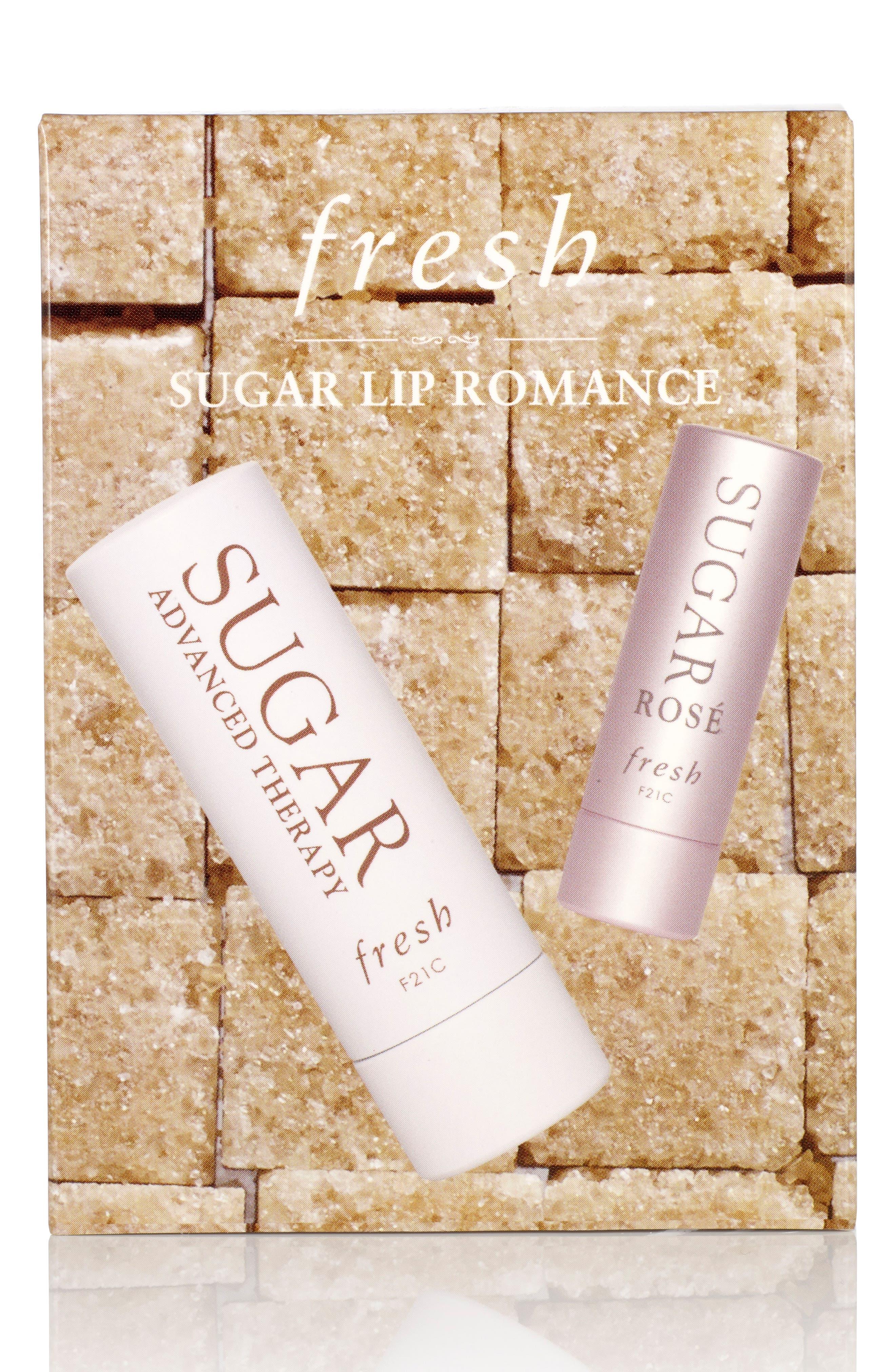 FRESH<SUP>®</SUP>, Sugar Lip Romance Set, Alternate thumbnail 3, color, 000