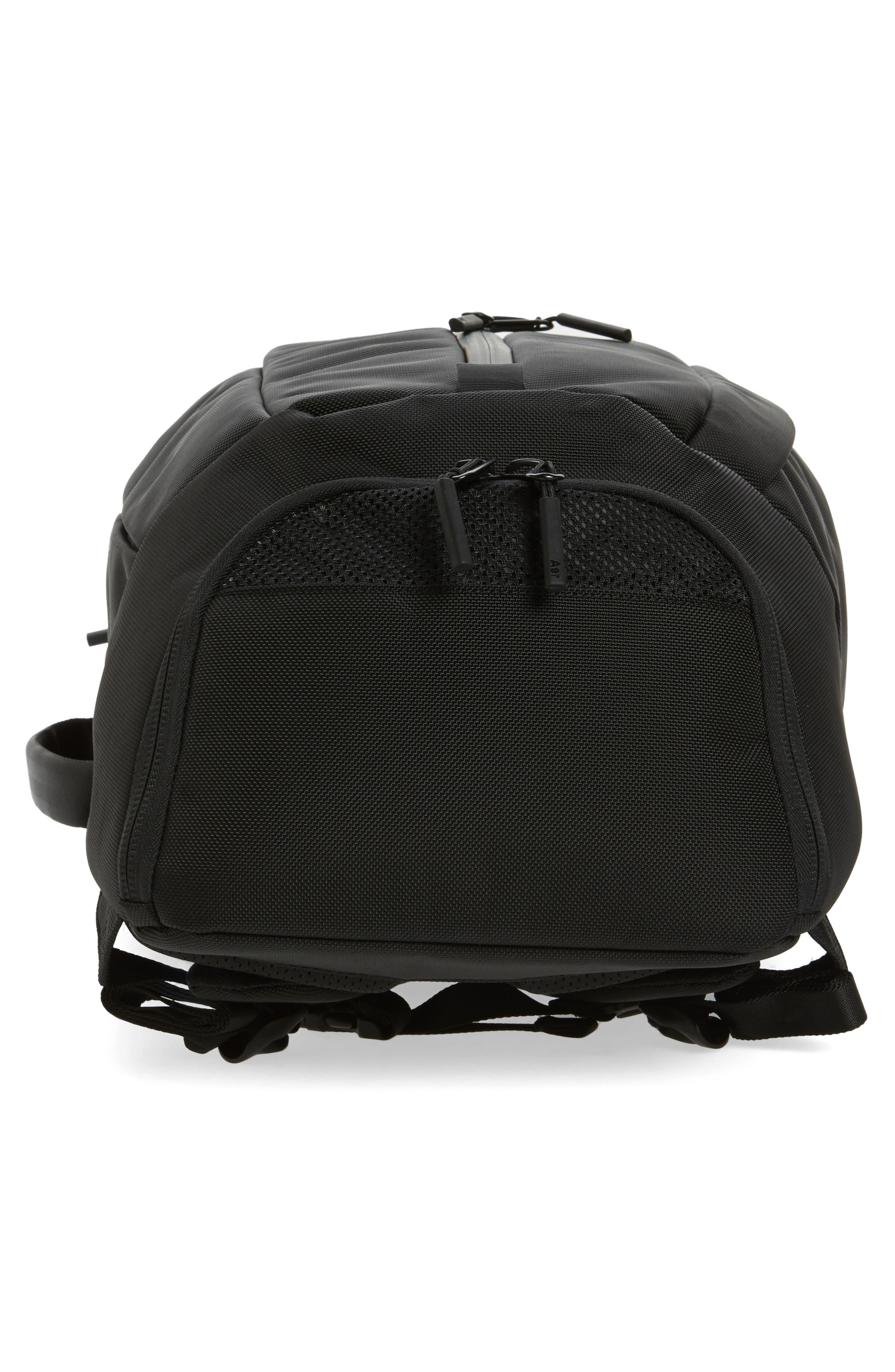 AER, Duffel Pack 2 Convertible Backpack, Alternate thumbnail 7, color, BLACK