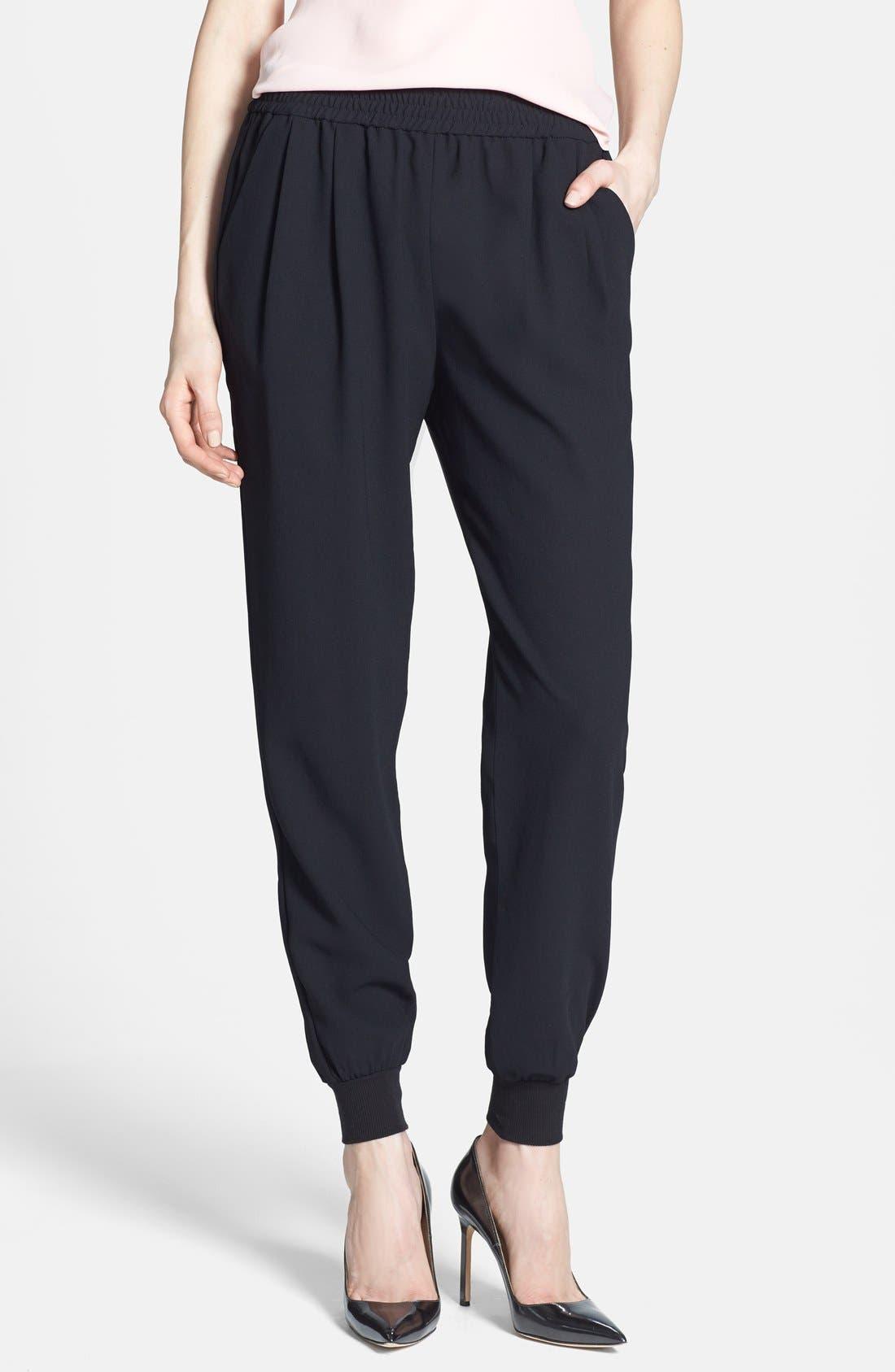 JOIE 'Mariner B.' Track Pants, Main, color, CAVIAR