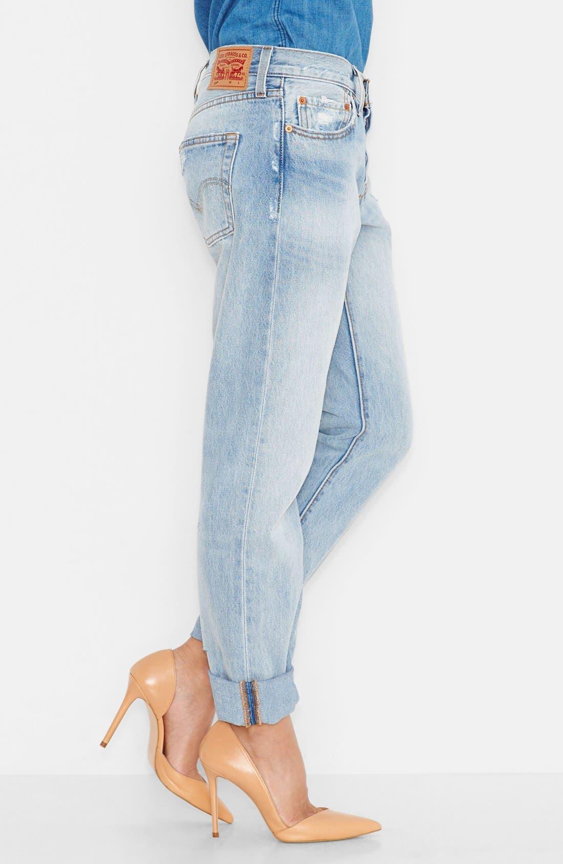 LEVI'S<SUP>®</SUP>, '501<sup>®</sup>' Jeans, Alternate thumbnail 2, color, 400