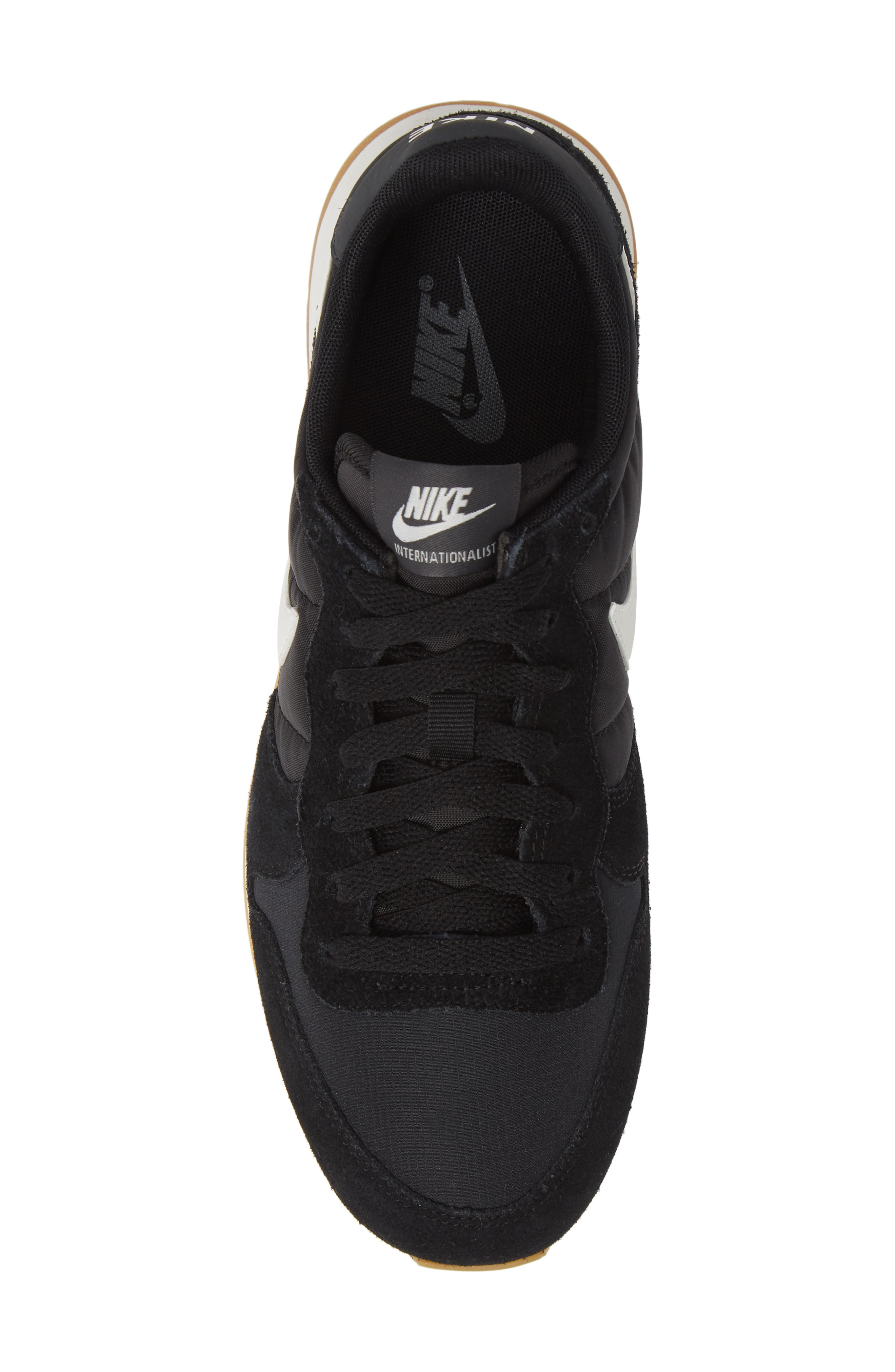 NIKE, 'Internationalist' Sneaker, Alternate thumbnail 5, color, 001