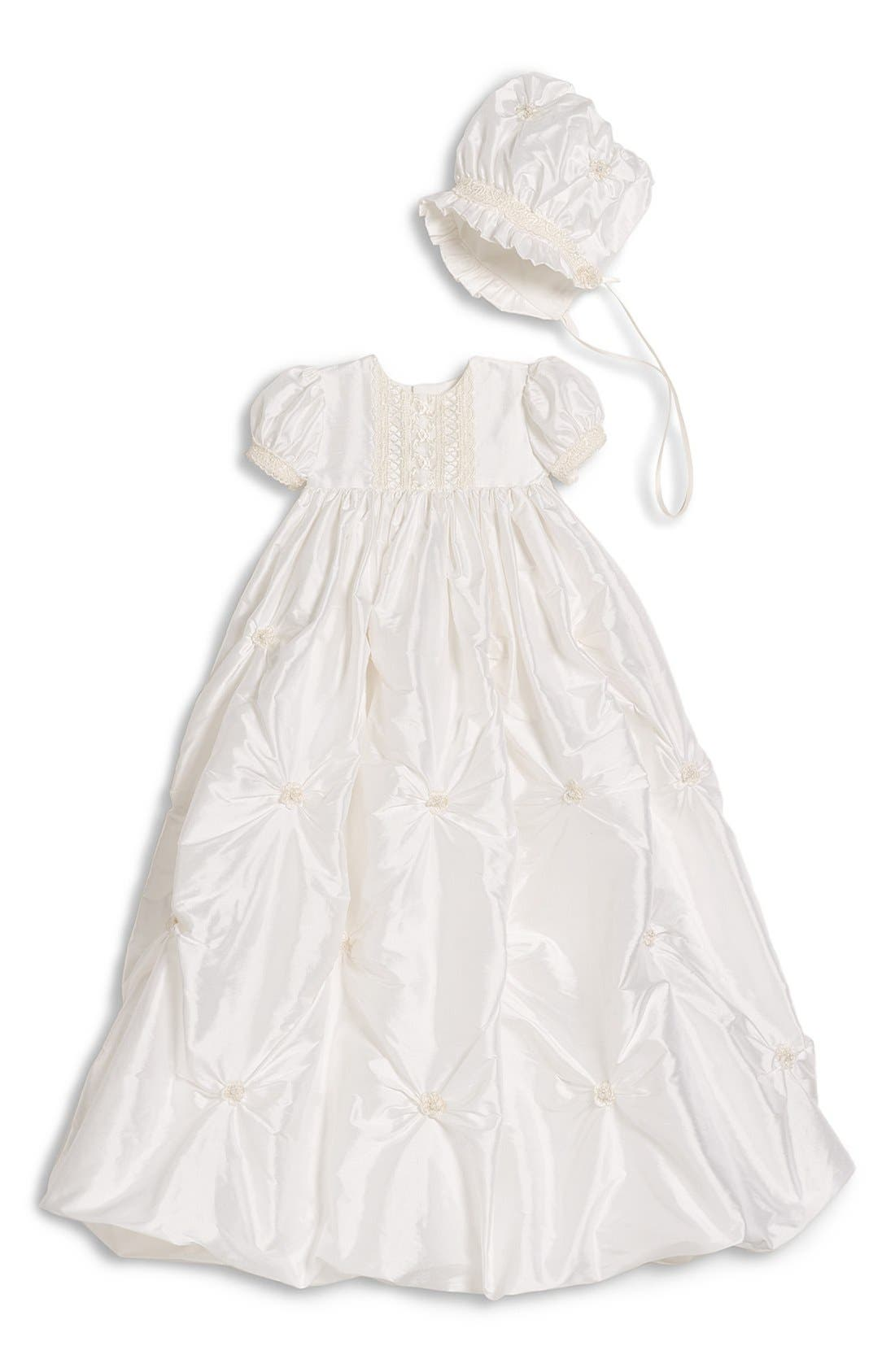 LITTLE THINGS MEAN A LOT, Princess Gown, Main thumbnail 1, color, WHITE