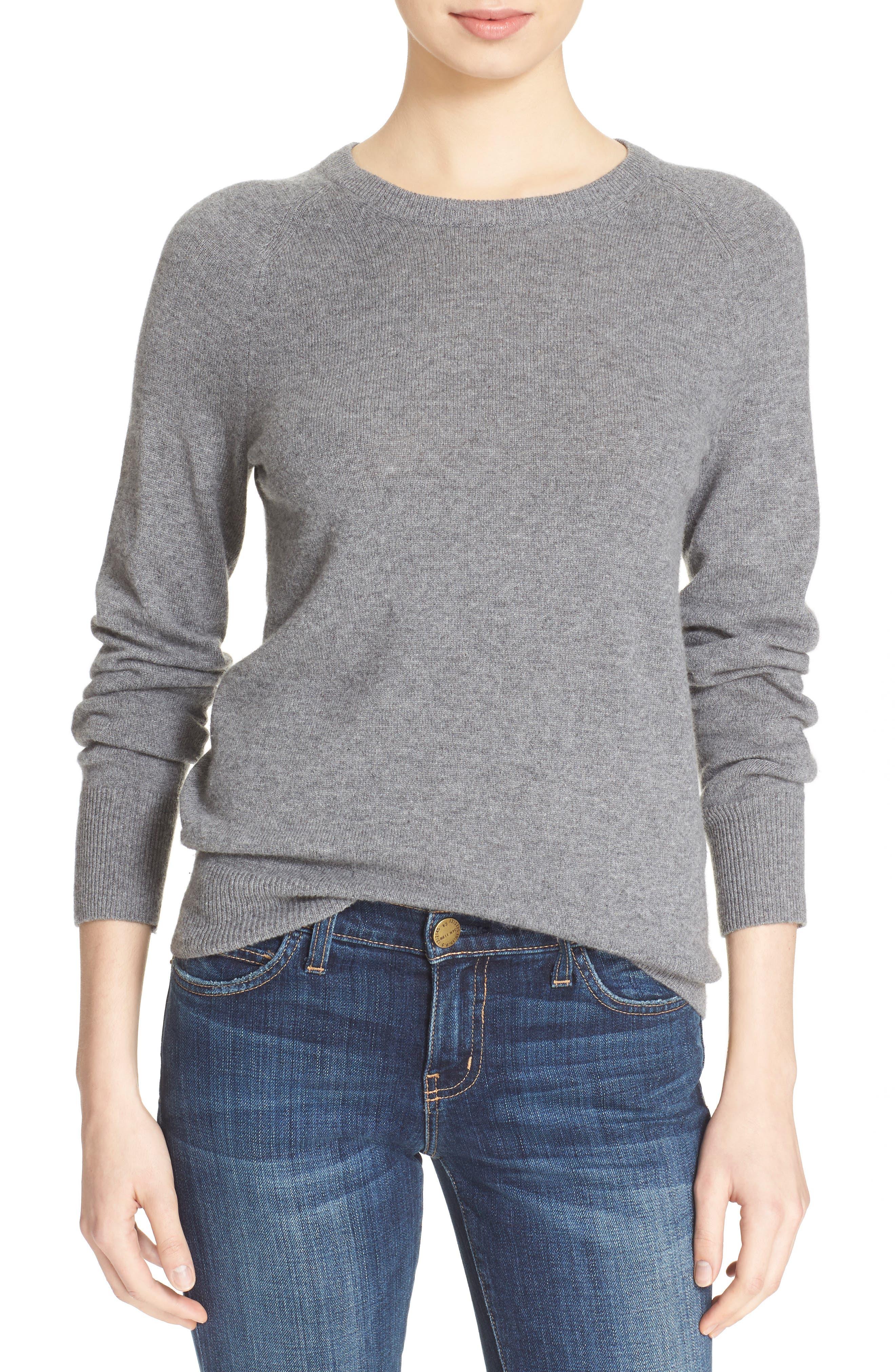 EQUIPMENT, 'Sloane' Crewneck Cashmere Sweater, Alternate thumbnail 6, color, 021