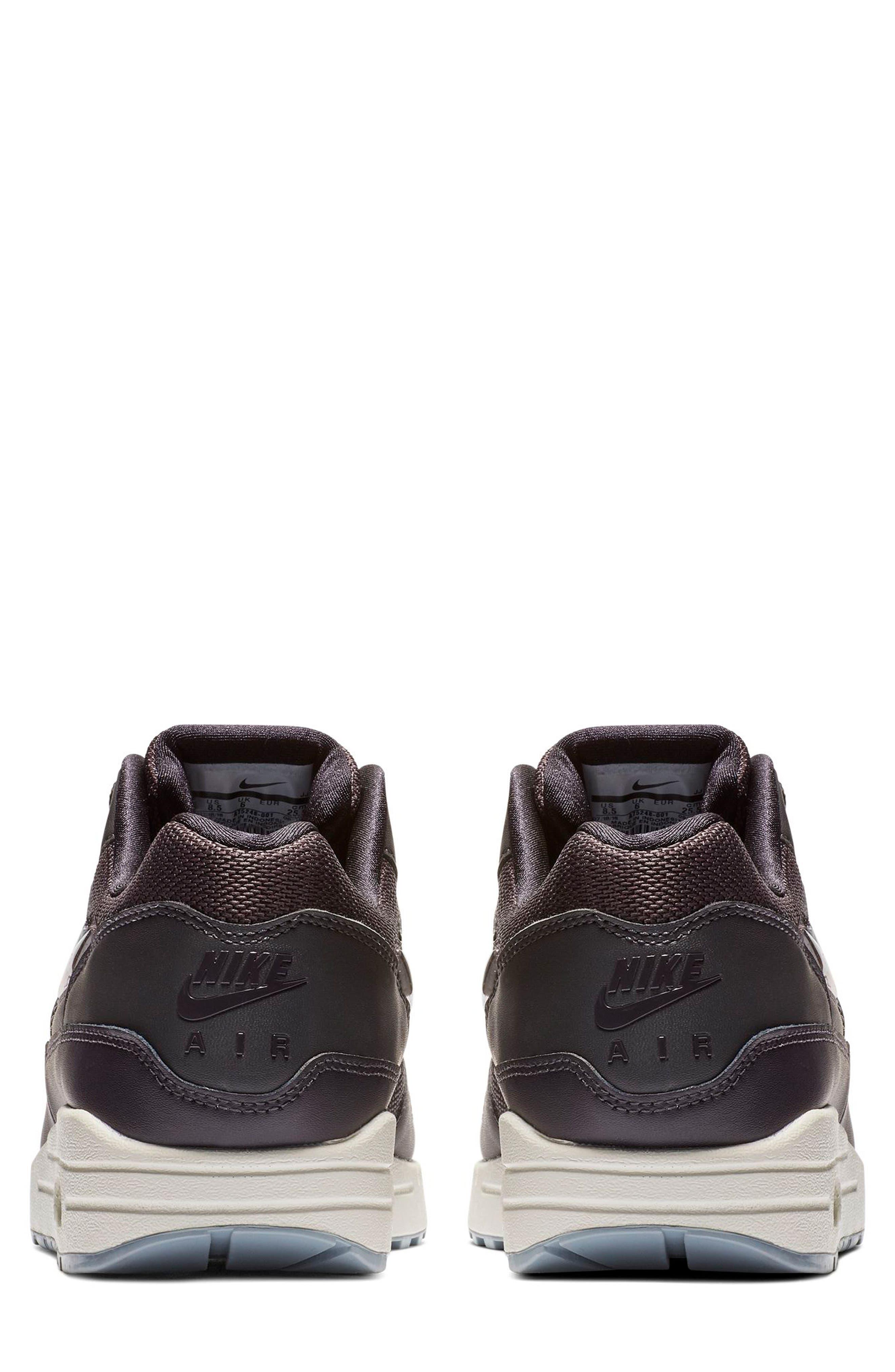NIKE, Air Max 1 JP Sneaker, Alternate thumbnail 2, color, OIL GREY/ OBSIDIAN/ WHITE
