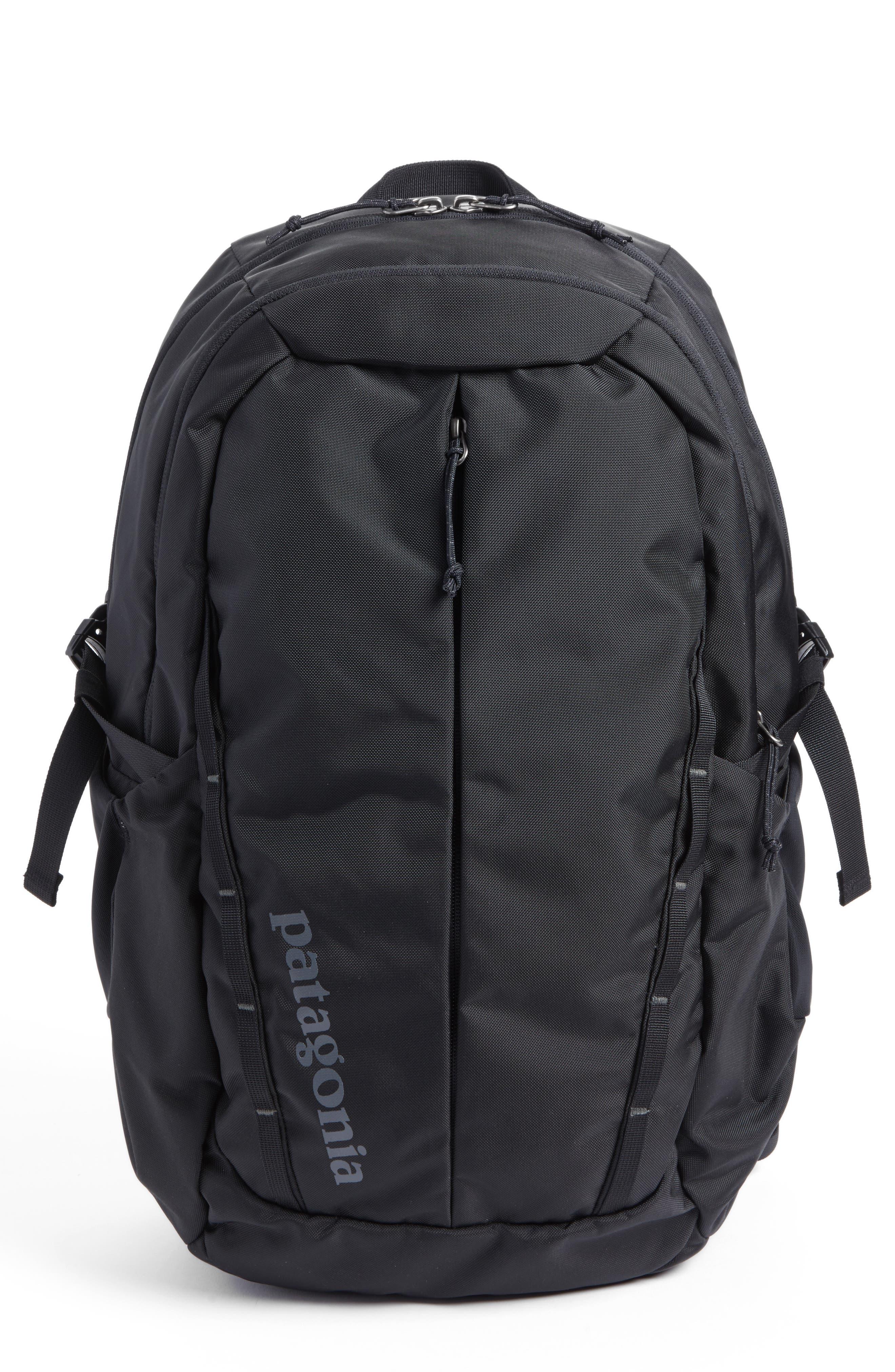 PATAGONIA Refugio 26L Backpack, Main, color, BLACK