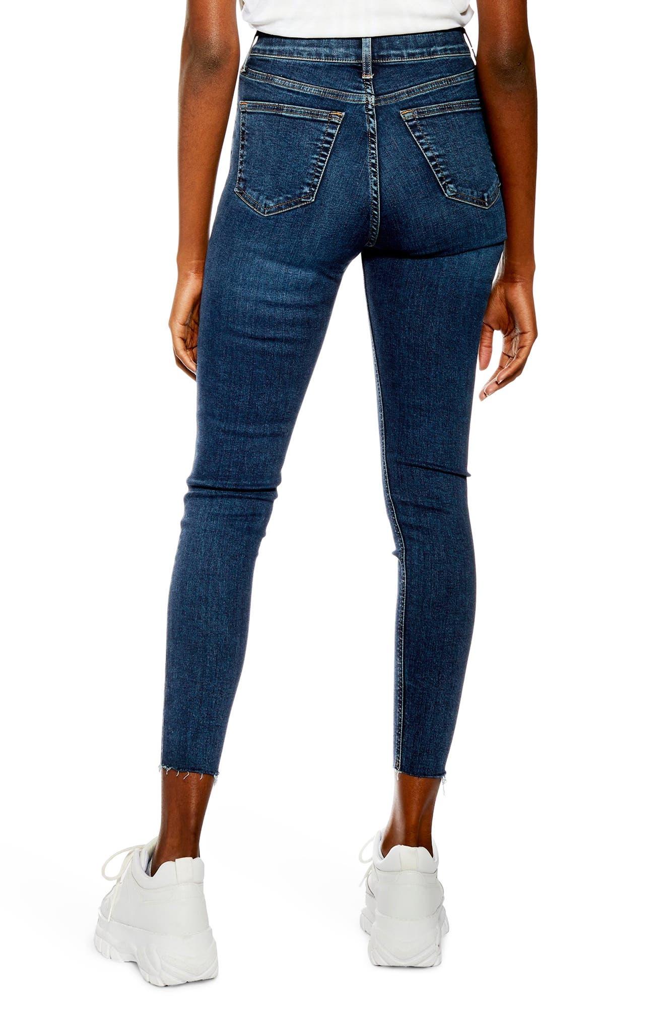 TOPSHOP, Jamie Vintage Jeans, Alternate thumbnail 2, color, INDIGO