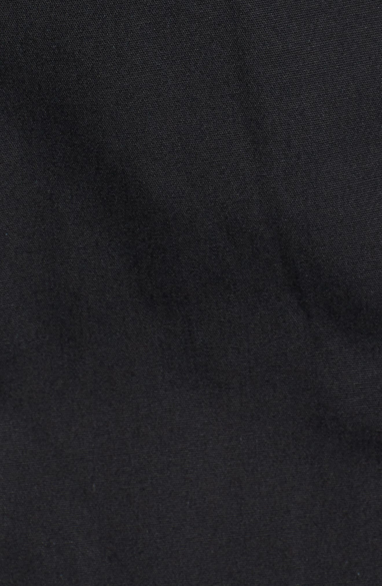 MODERN ETERNITY, Convertible Down 3-in-1 Maternity Jacket, Alternate thumbnail 5, color, BLACK