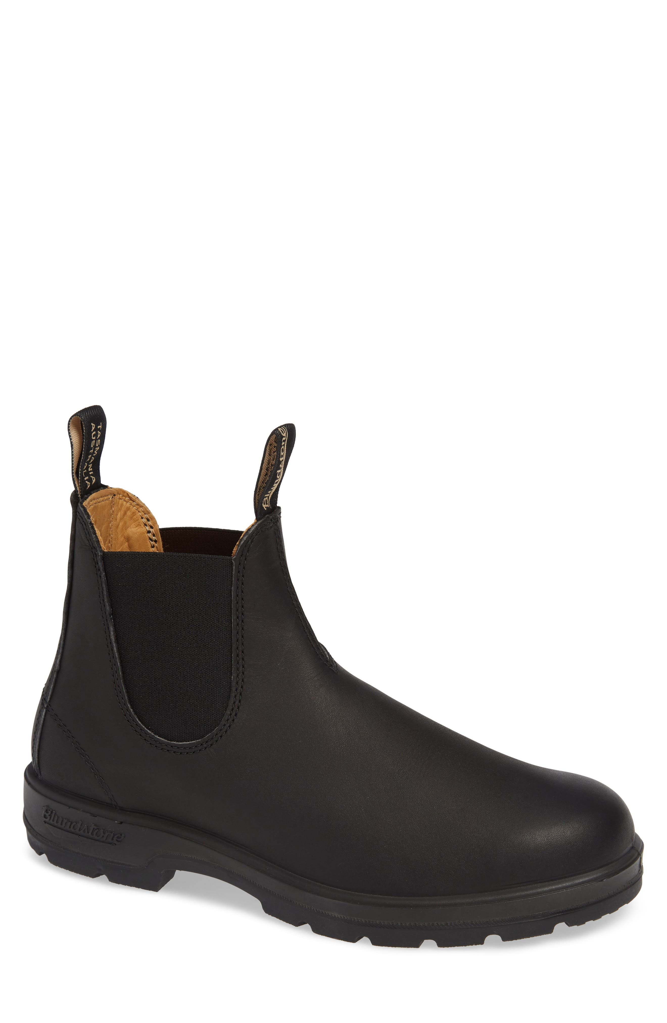 BLUNDSTONE FOOTWEAR, Chelsea Boot, Main thumbnail 1, color, BLACK