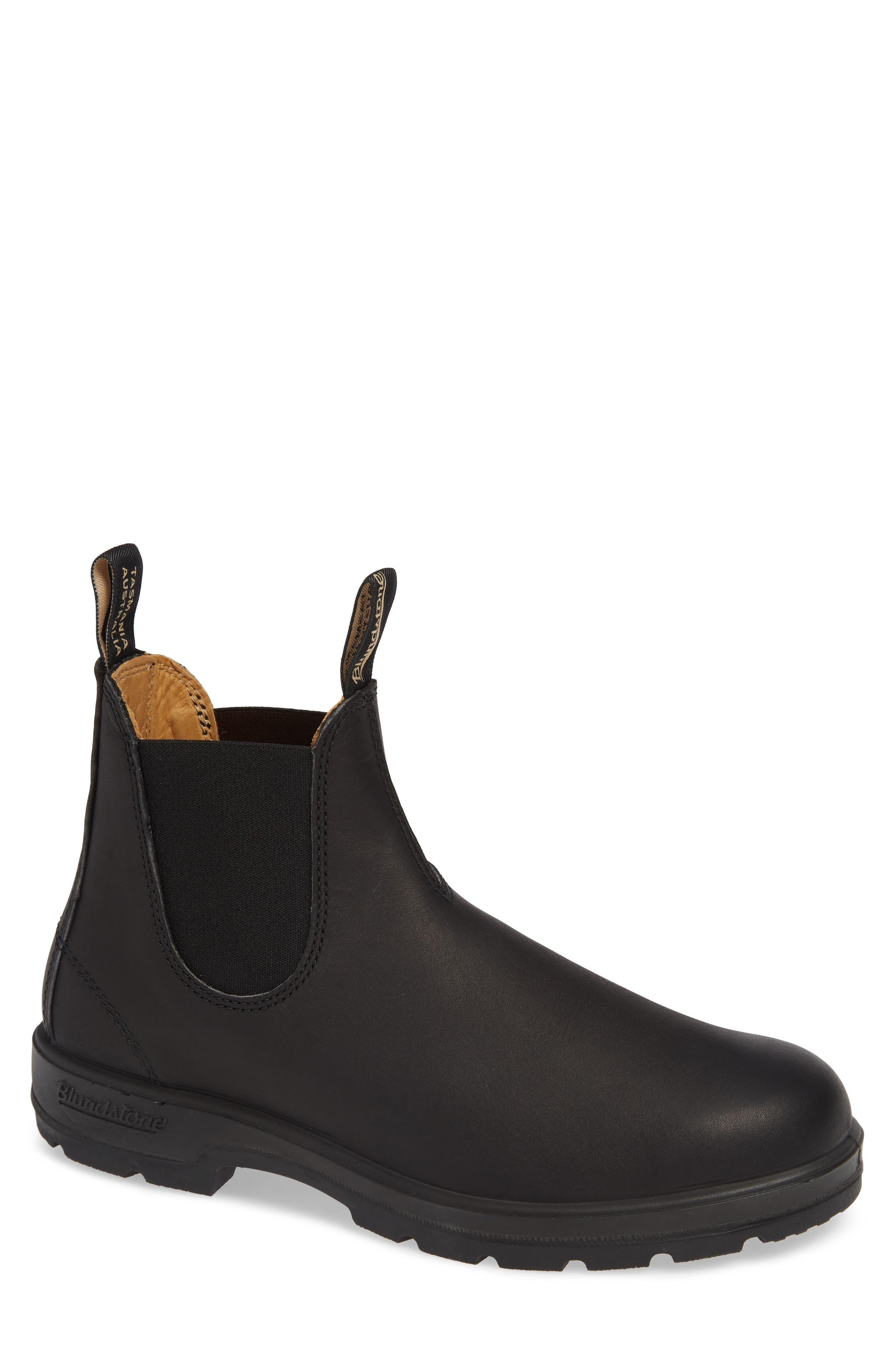 BLUNDSTONE FOOTWEAR Chelsea Boot, Main, color, BLACK