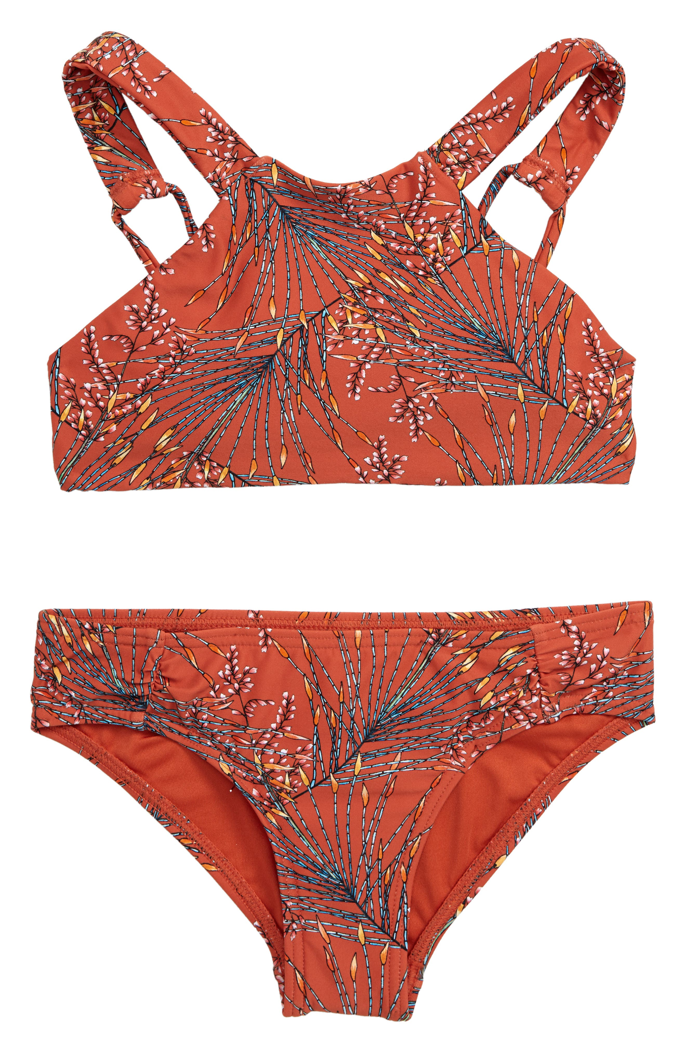 O'NEILL, Prism Two-Piece Halter Swimsuit, Main thumbnail 1, color, KOI
