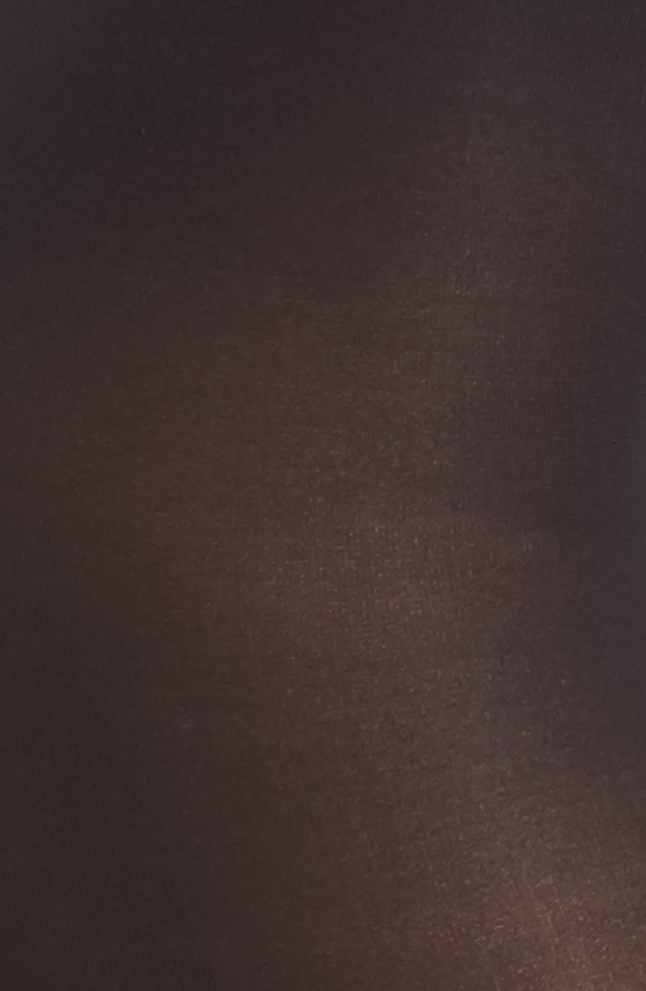 DONNA KARAN NEW YORK, Donna Karan Signature Ultra Sheer Control Top Pantyhose, Alternate thumbnail 2, color, BLACK