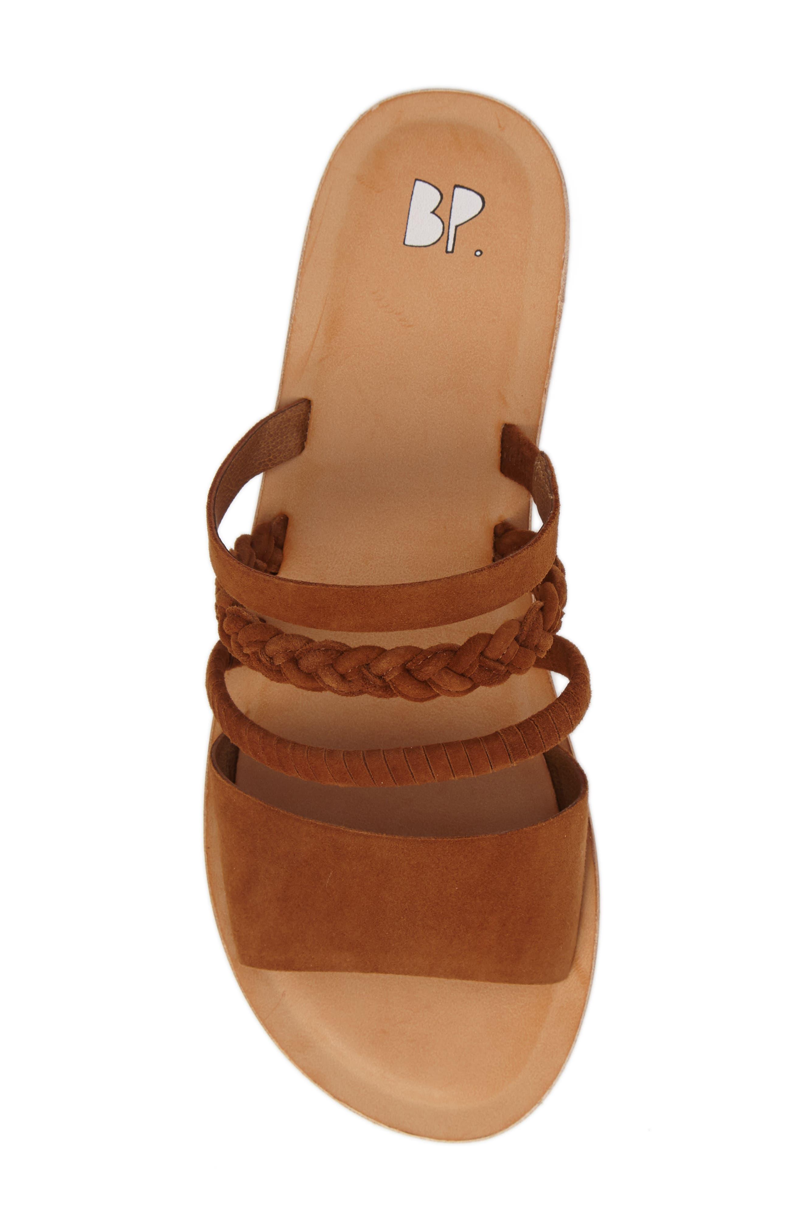 BP., Bayla Strappy Slip-On Sandal, Alternate thumbnail 5, color, 202