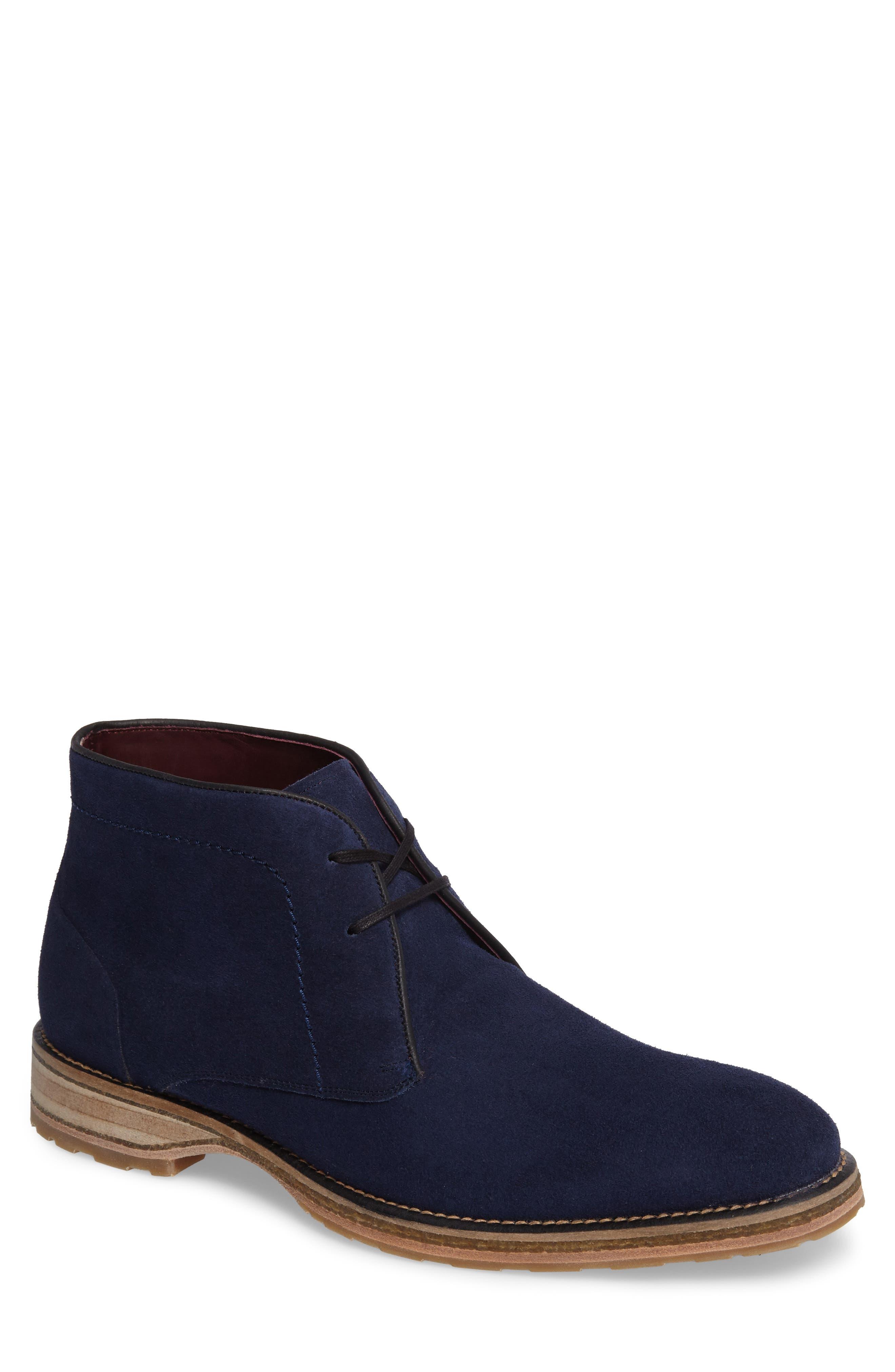 MEZLAN Dalias Chukka Boot, Main, color, BLUE SUEDE