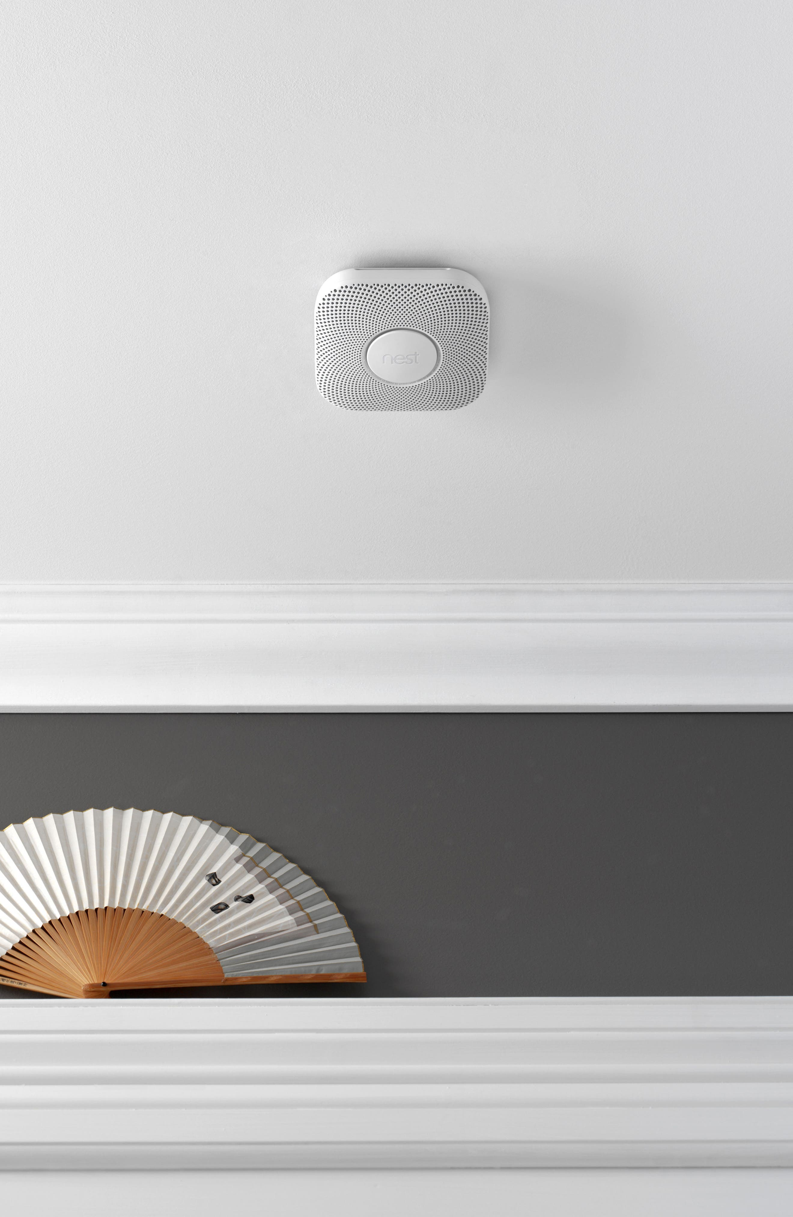 NEST, Protect Smoke & Carbon Monoxide Alarm, Alternate thumbnail 9, color, BATTERY OPERATED