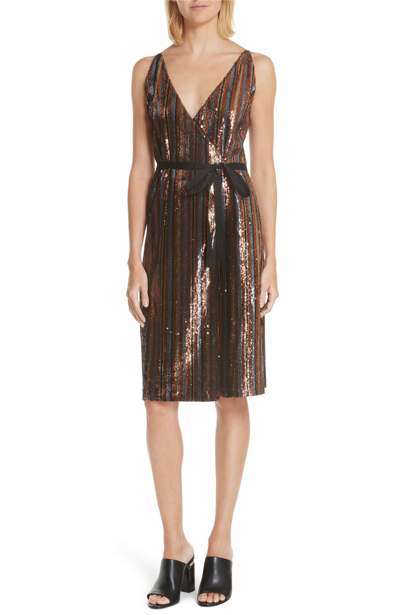 21c1334187598 Robert Rodriguez Sequin Stripe Dress | Nordstrom