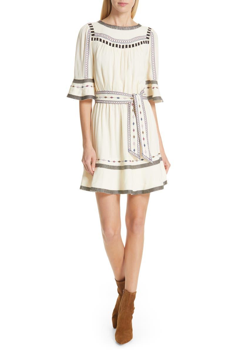 Ba&sh Dresses PLAZA EMBROIDERED DRESS