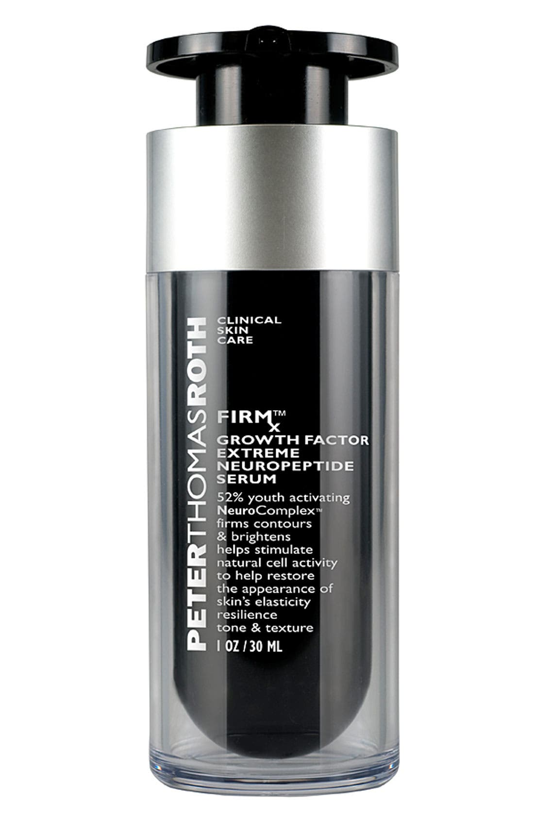 PETER THOMAS ROTH, FIRMx Growth Factor Extreme Neuropeptide Serum, Main thumbnail 1, color, NO COLOR