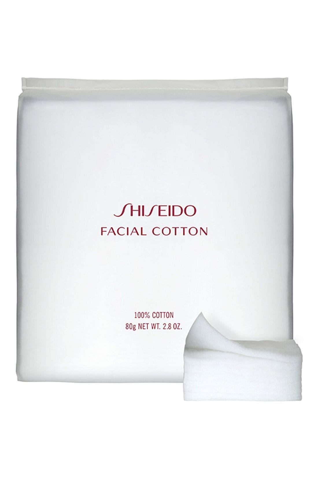 SHISEIDO, Facial Cotton, Main thumbnail 1, color, NO COLOR