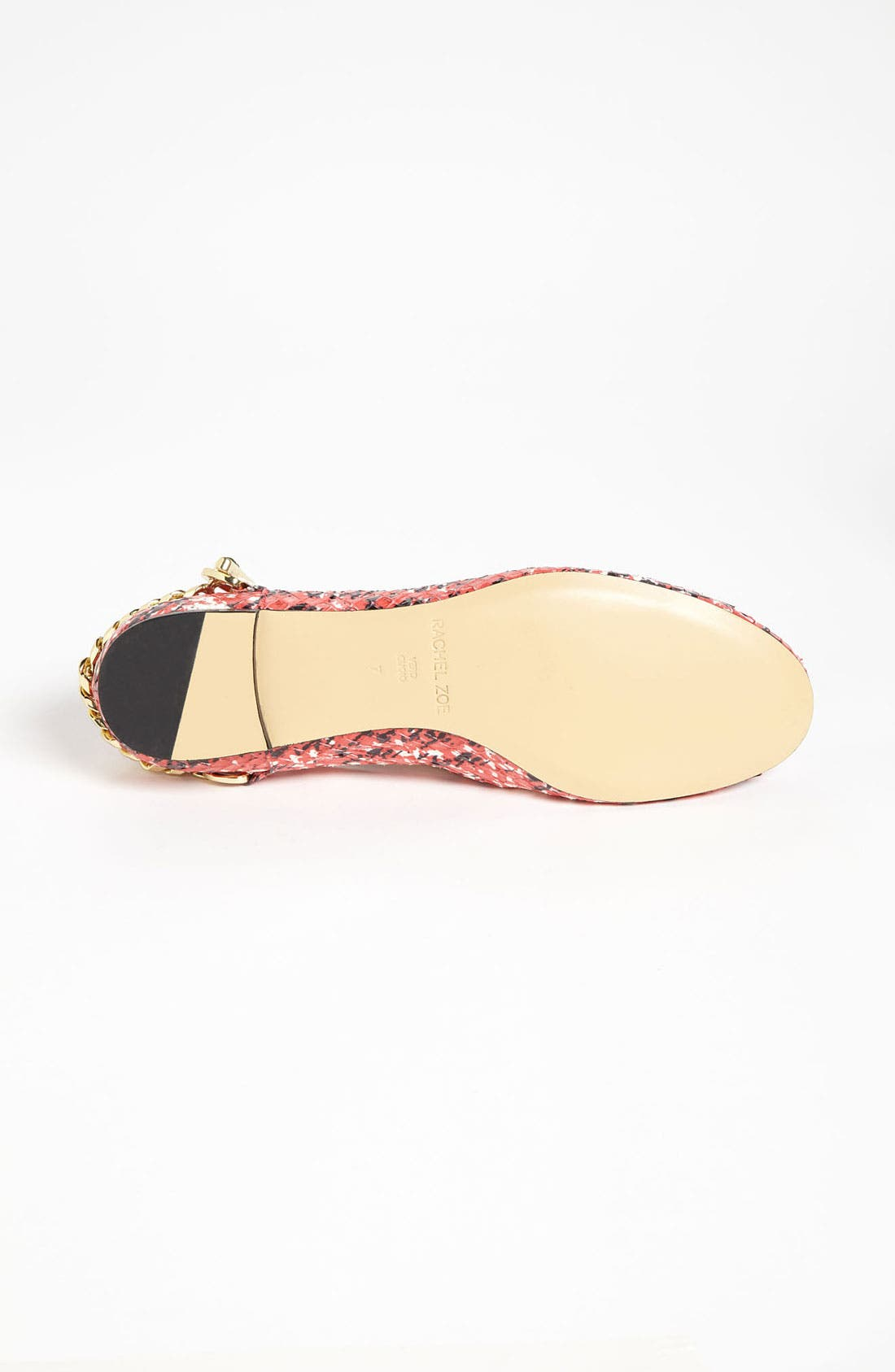 RACHEL ZOE, 'Laura' Flat, Alternate thumbnail 4, color, 600