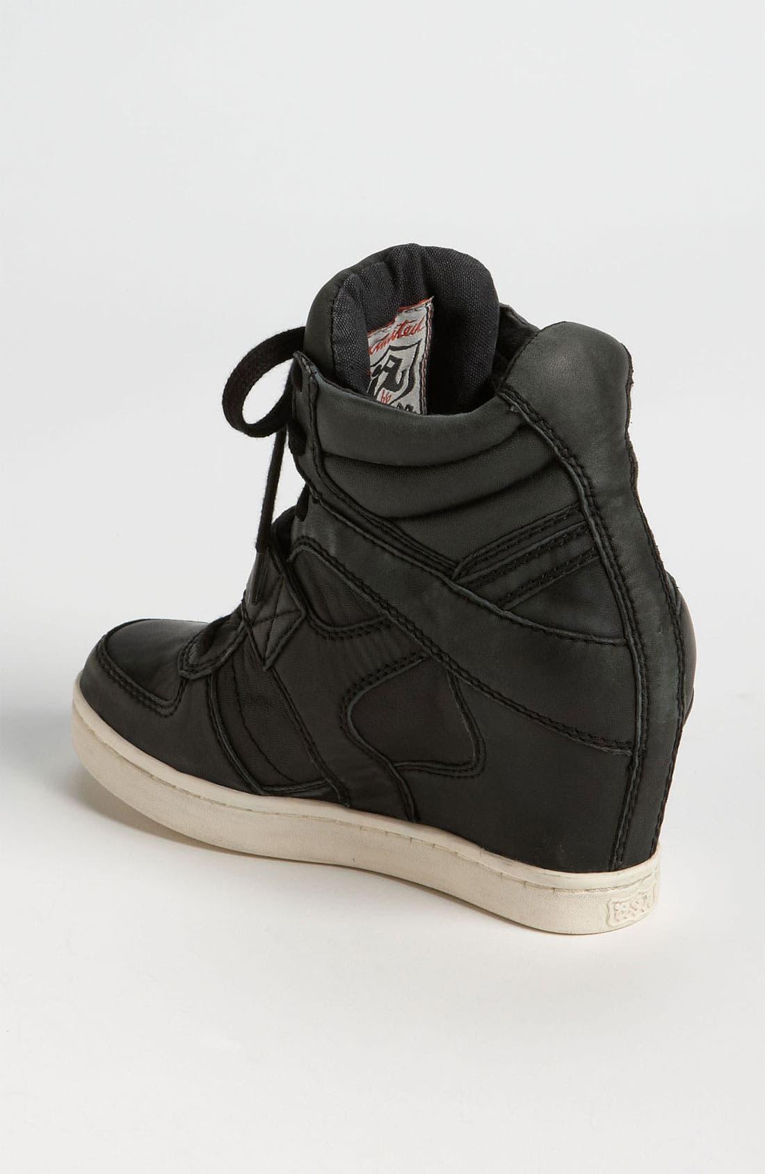 ASH, 'Cool Ter' Sneaker, Alternate thumbnail 4, color, 001