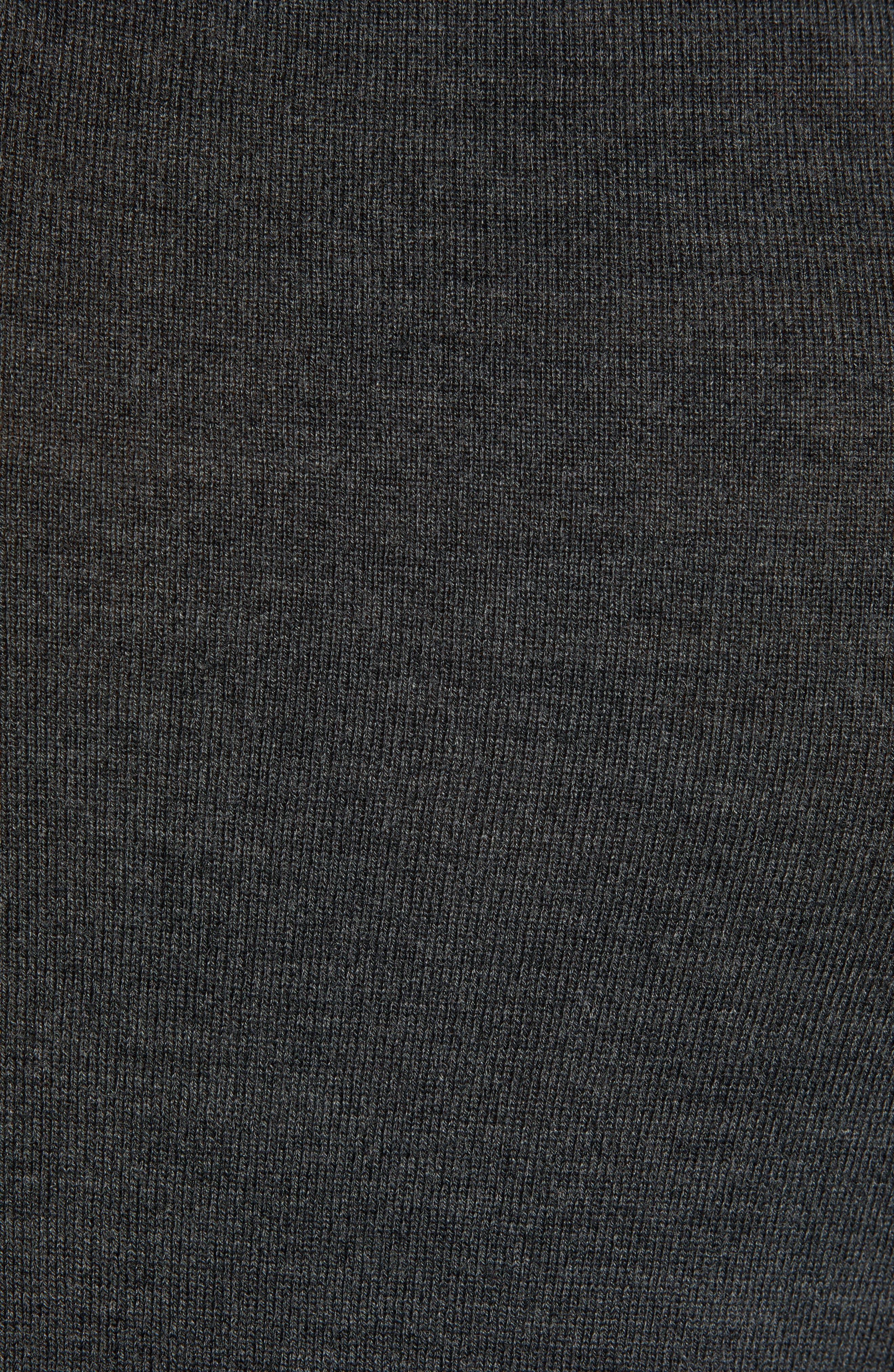 VINCE CAMUTO, Merino Wool Turtleneck, Alternate thumbnail 6, color, CHARCOAL