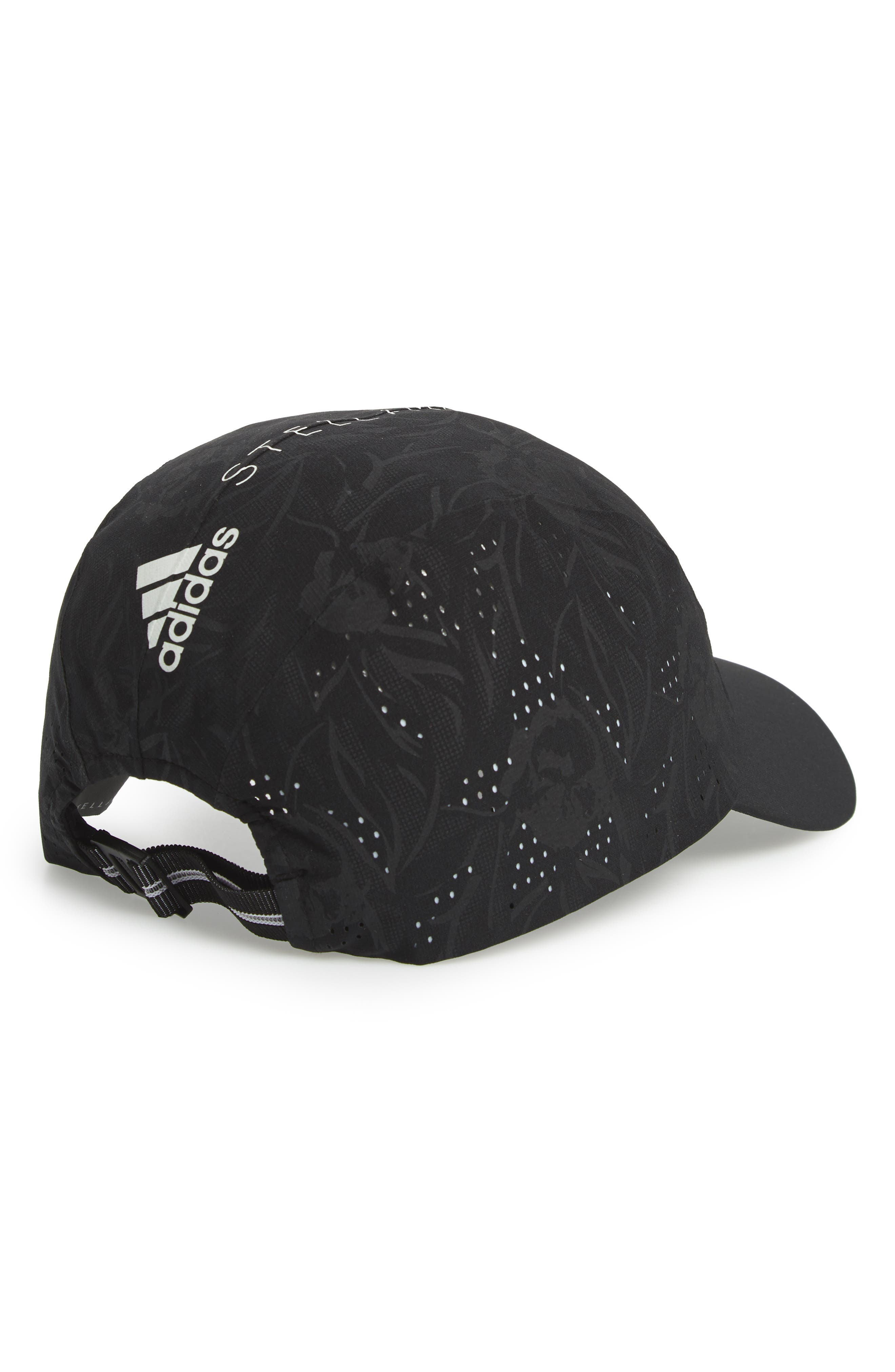ADIDAS BY STELLA MCCARTNEY, Training Cap, Alternate thumbnail 2, color, BLACK