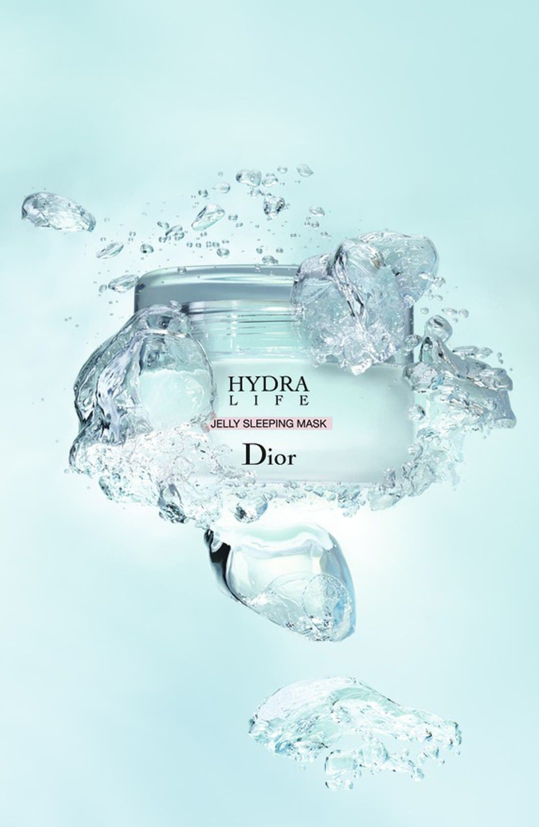 DIOR, Hydra Life Jelly Sleeping Mask, Alternate thumbnail 2, color, NO COLOR