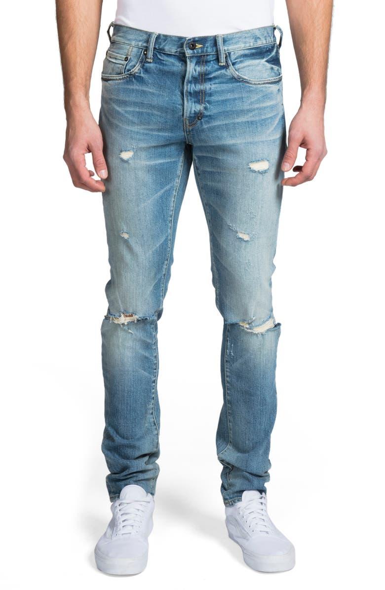PRPS Windsor Slim Fit Jeans, Main, color, AMBULANCE