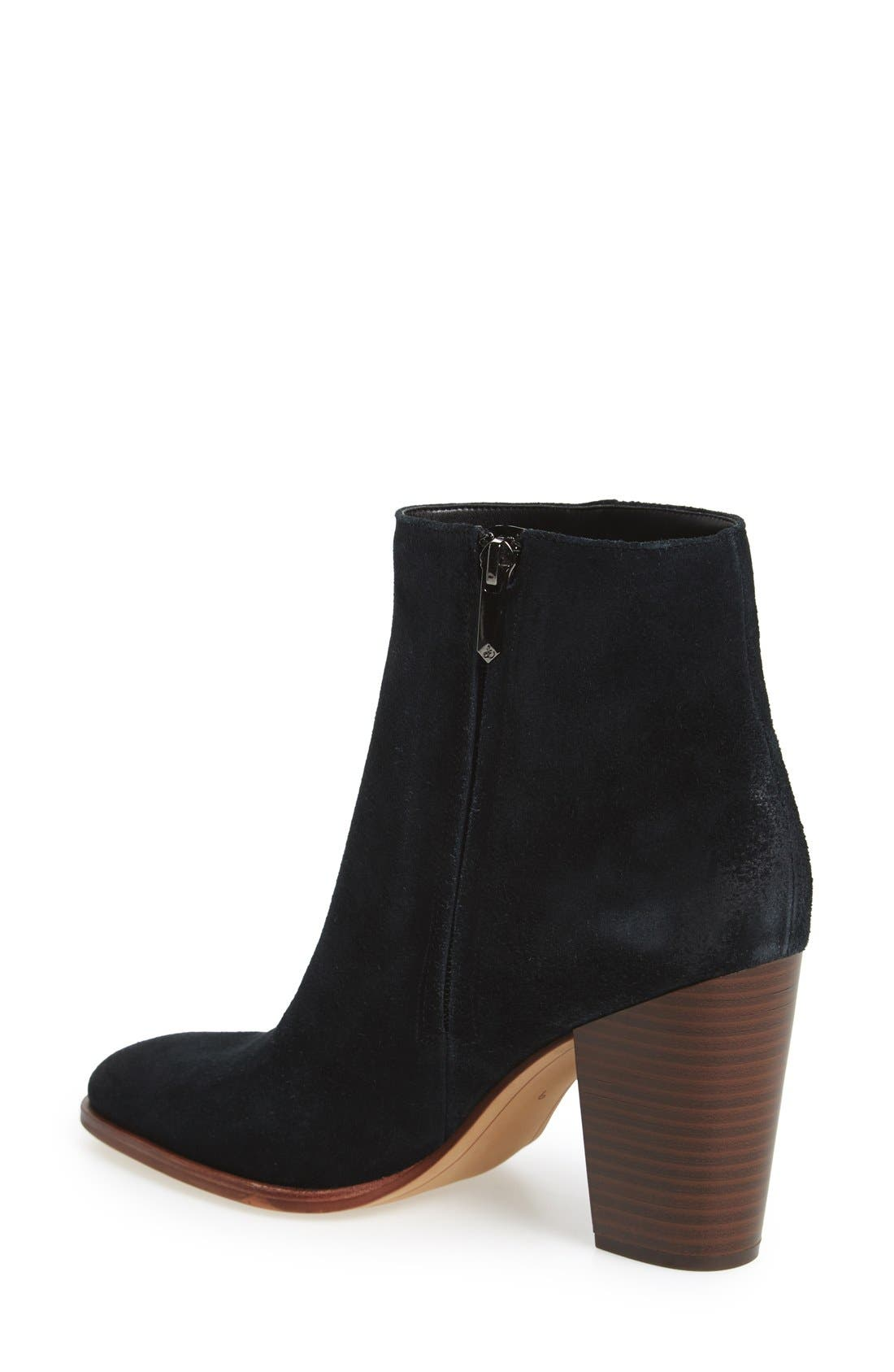 SAM EDELMAN, 'Blake' Bootie, Alternate thumbnail 2, color, 002