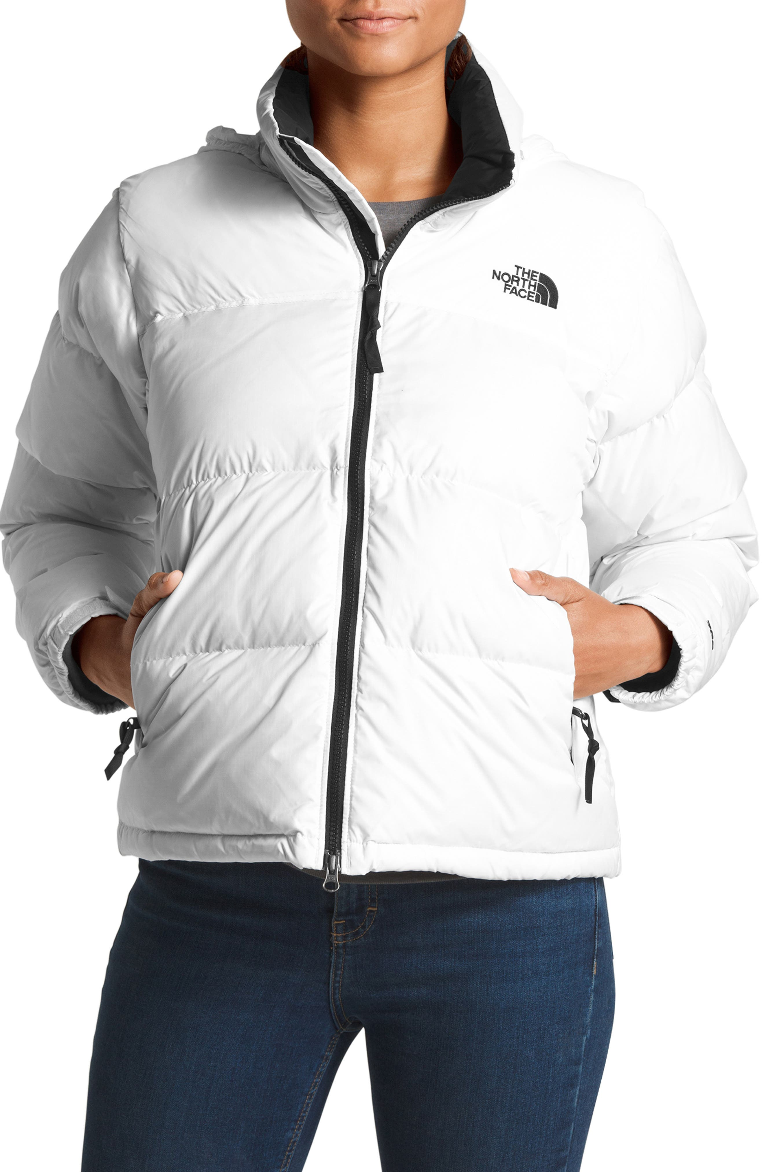 THE NORTH FACE Nuptse 1996 Packable Quilted Down Jacket, Main, color, TNF WHITE
