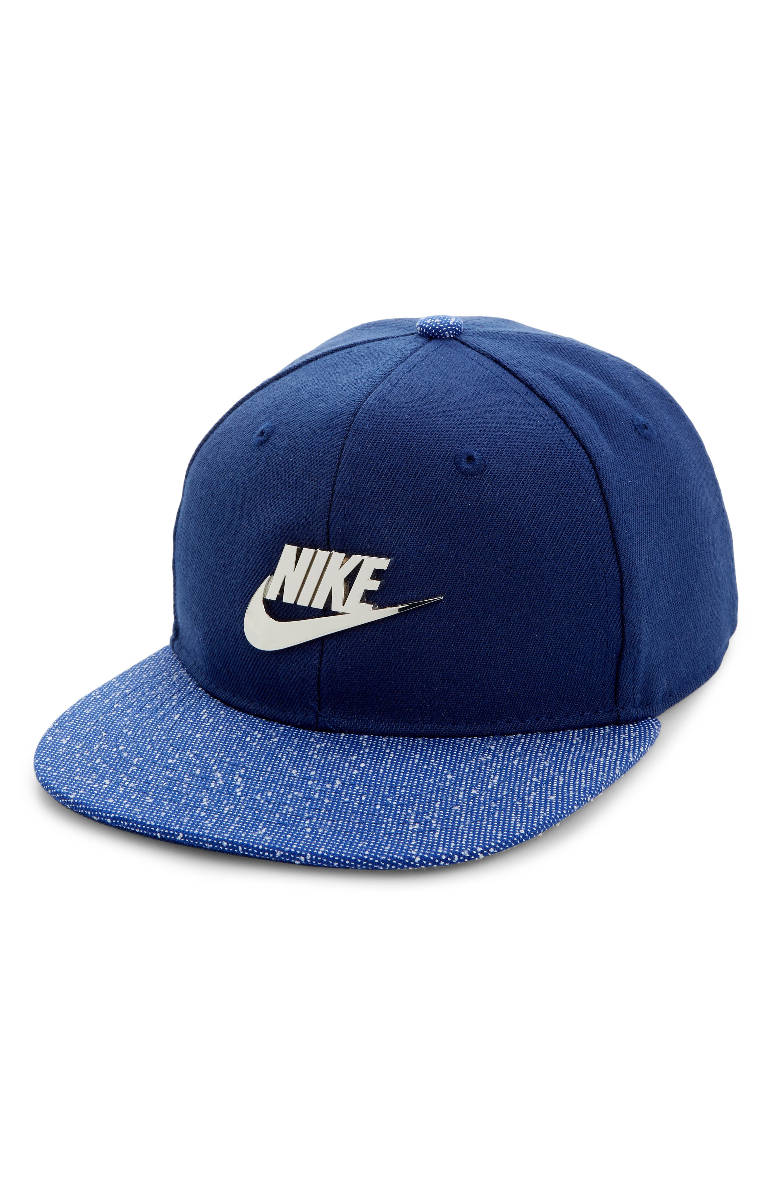 NIKE Metal Future Cap, Main, color, BLUE VOID