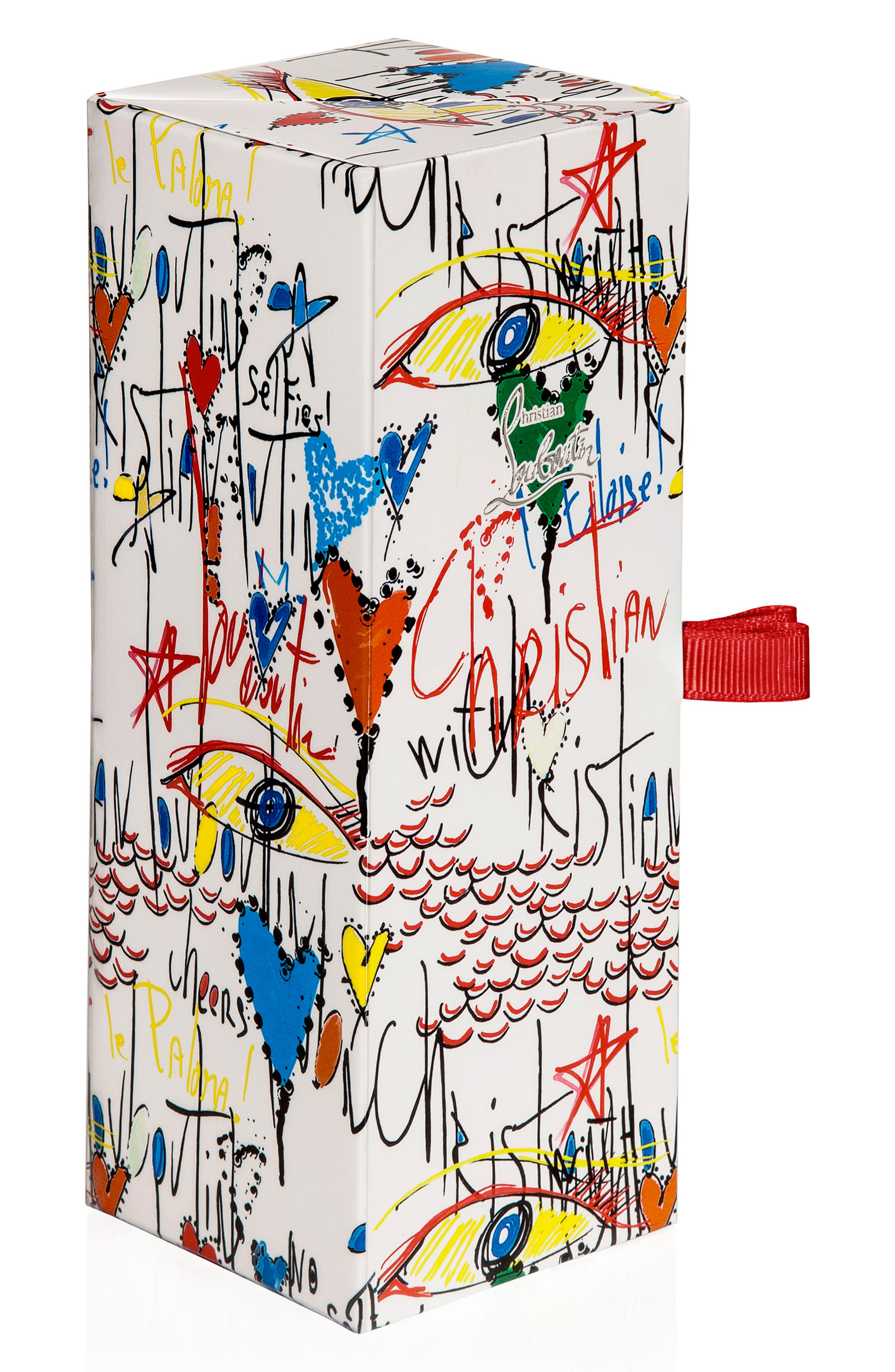 CHRISTIAN LOUBOUTIN, Loubitag Nail Collection, Alternate thumbnail 2, color, EDGYPOPI / BARABOUM