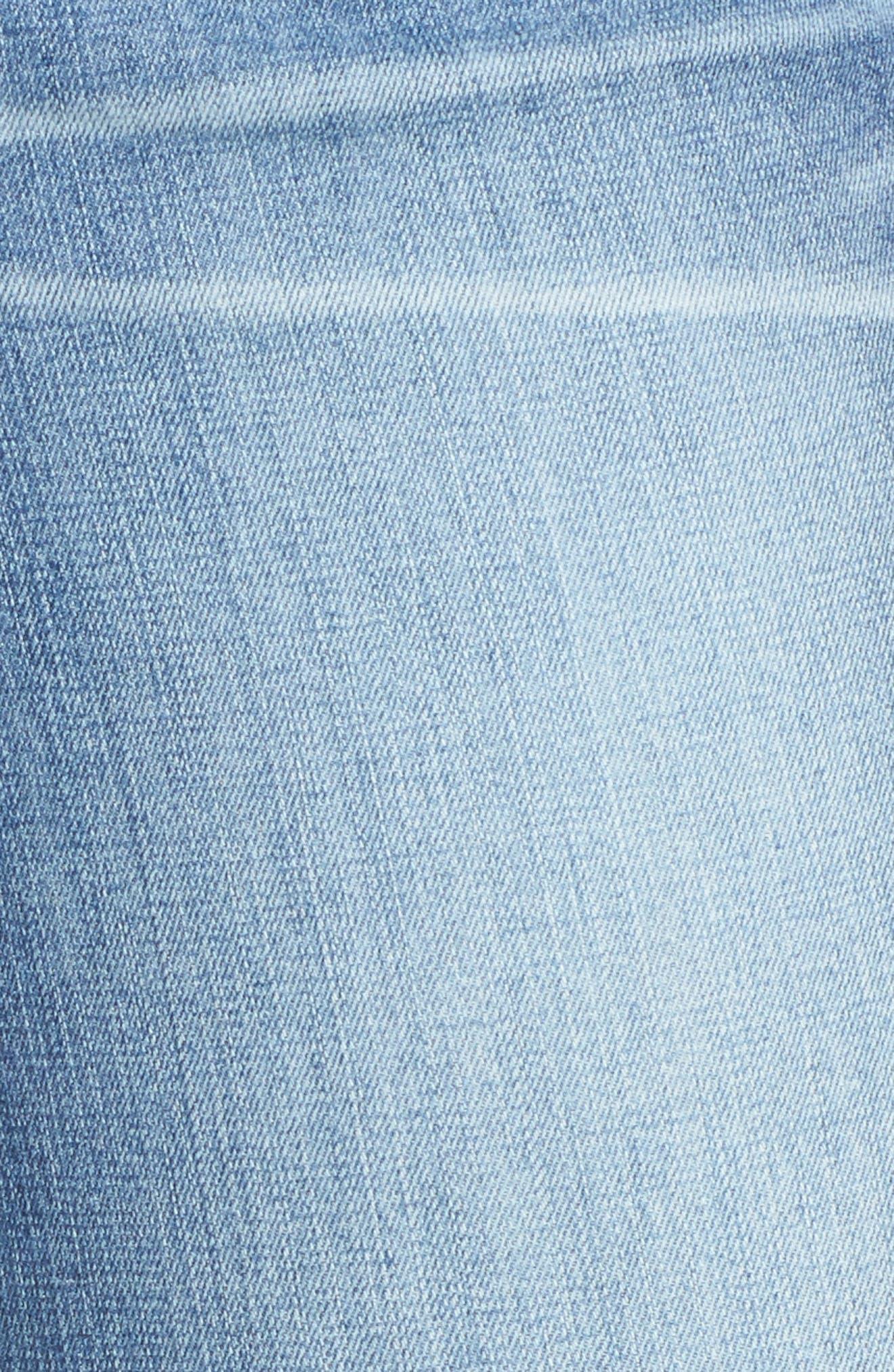 WIT & WISDOM, Flex-ellent Boyfriend Jeans, Alternate thumbnail 6, color, BLUE