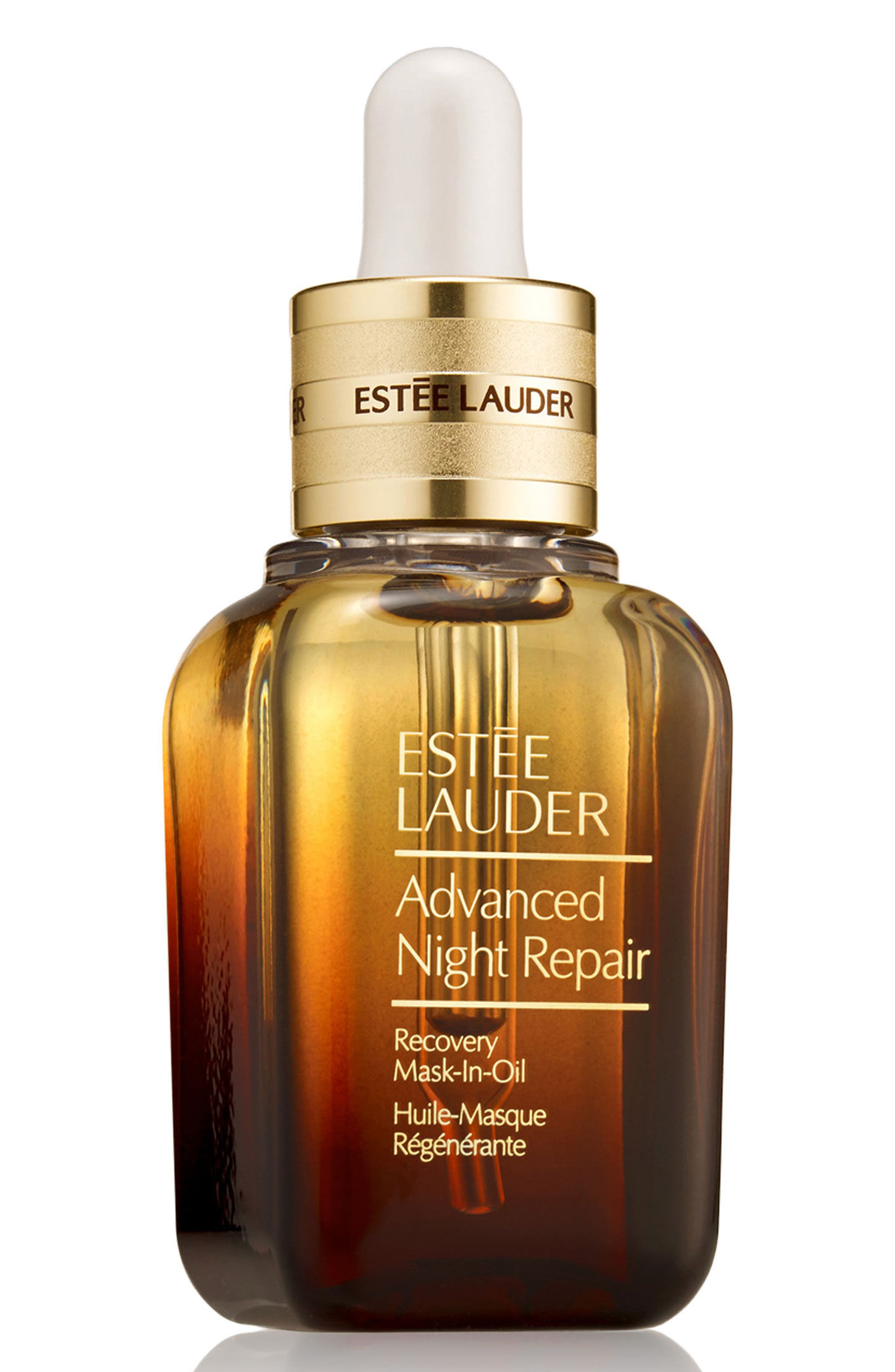 ESTÉE LAUDER, Advanced Night Repair Recovery Mask-in-Oil, Main thumbnail 1, color, 000