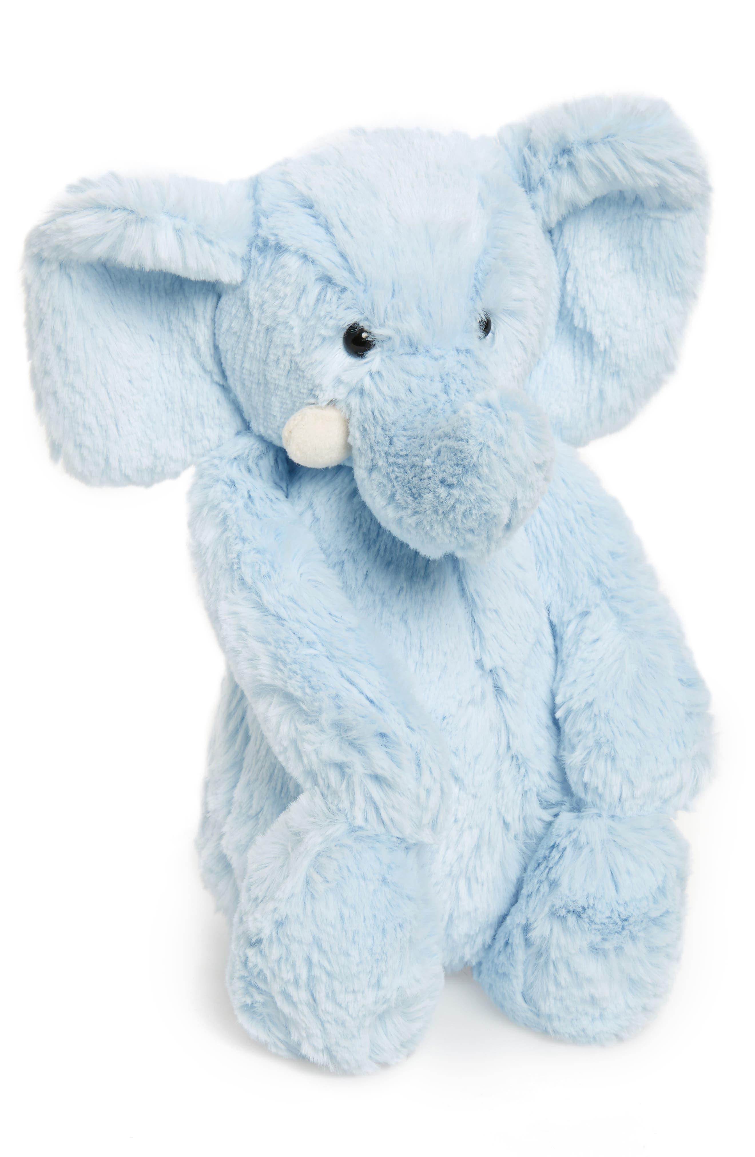JELLYCAT, Chime Stuffed Elephant, Main thumbnail 1, color, 450