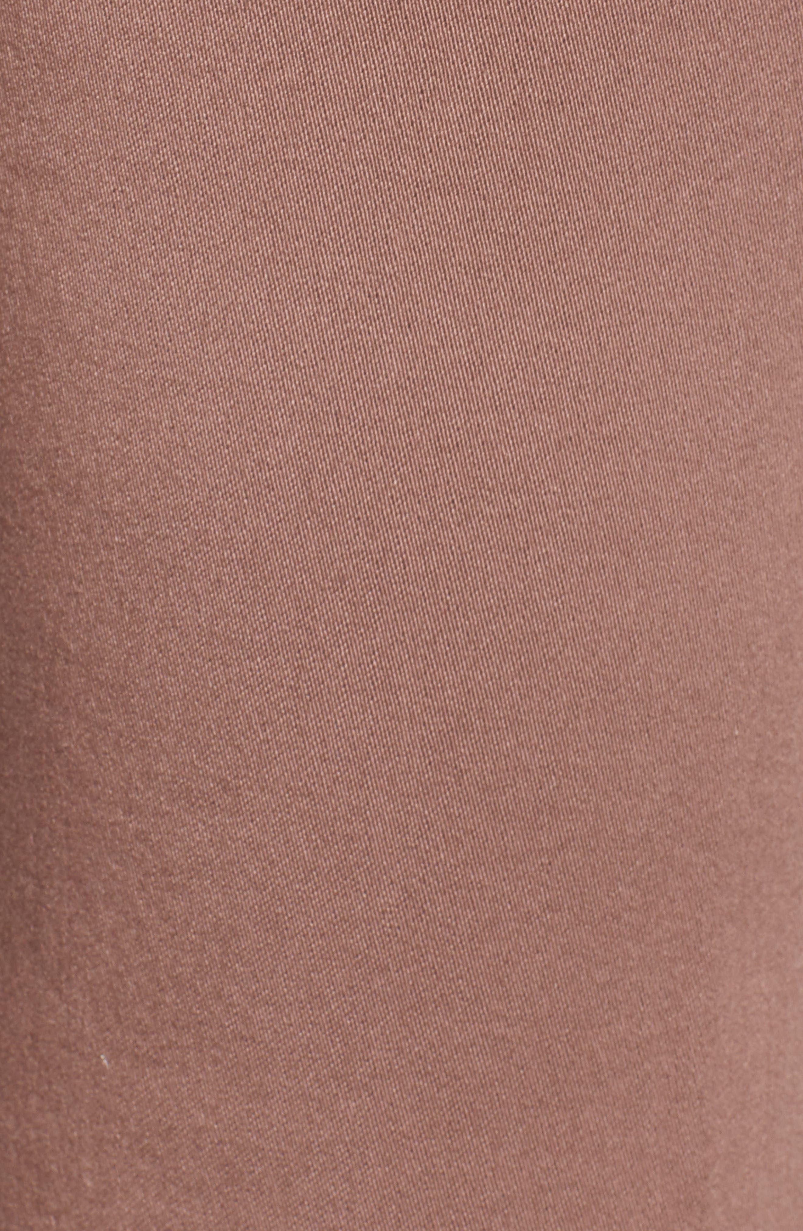 WIT & WISDOM, High Rise Ab-Solution Ankle Pants, Alternate thumbnail 6, color, TWILIGHT MAUVE