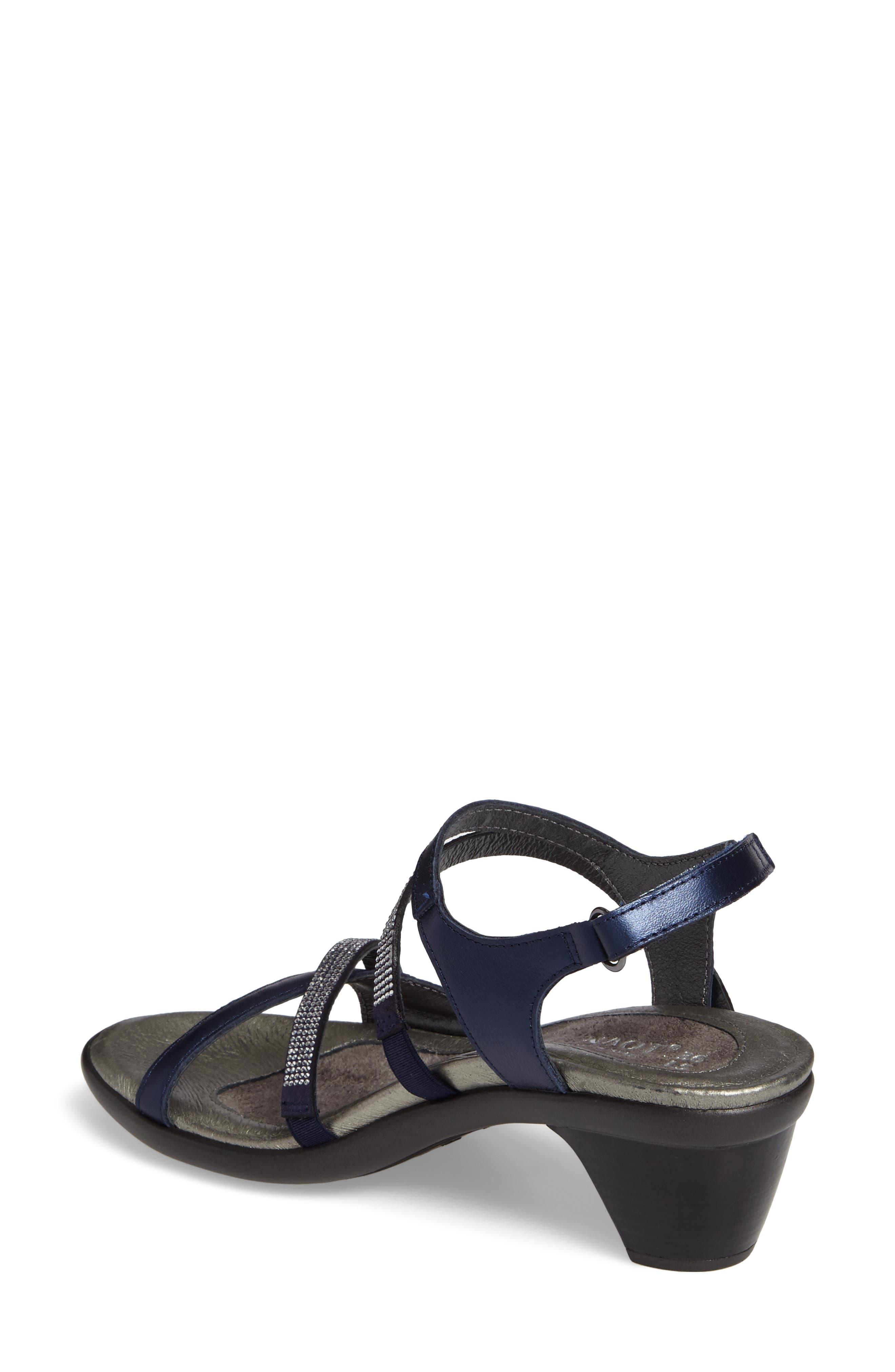 NAOT, Innovate Sandal, Alternate thumbnail 2, color, POLAR SEAL LEATHER