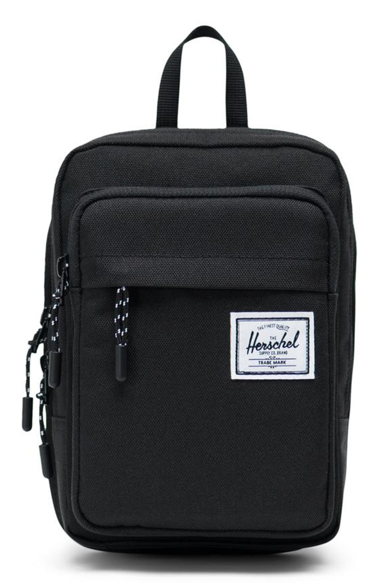 HERSCHEL SUPPLY CO. Large Form Shoulder Bag, Main, color, BLACK