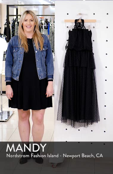 Tiered Tulle Dress, sales video thumbnail