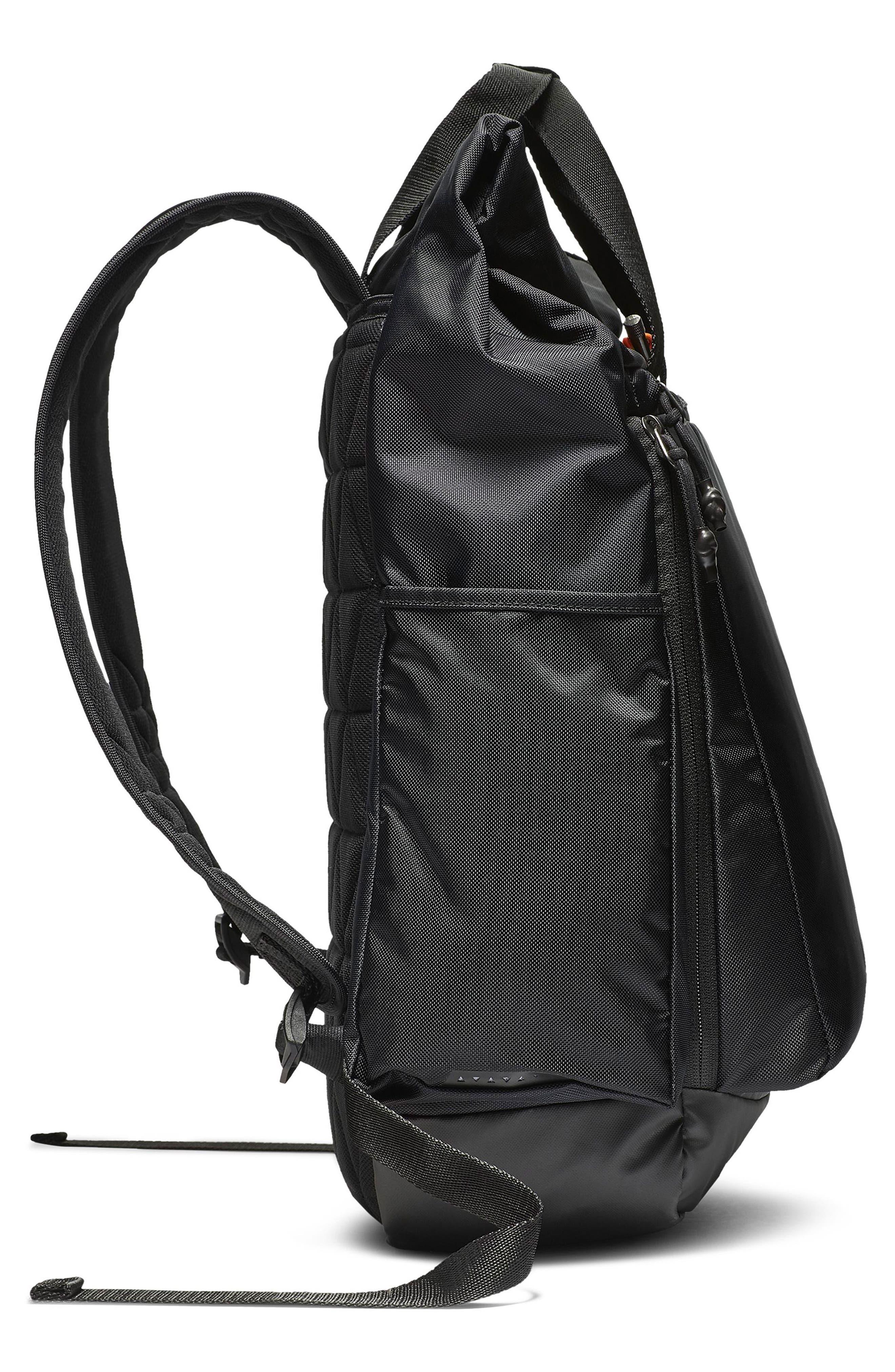 NIKE, Vapor Energy 2.0 Training Backpack, Alternate thumbnail 5, color, BLACK