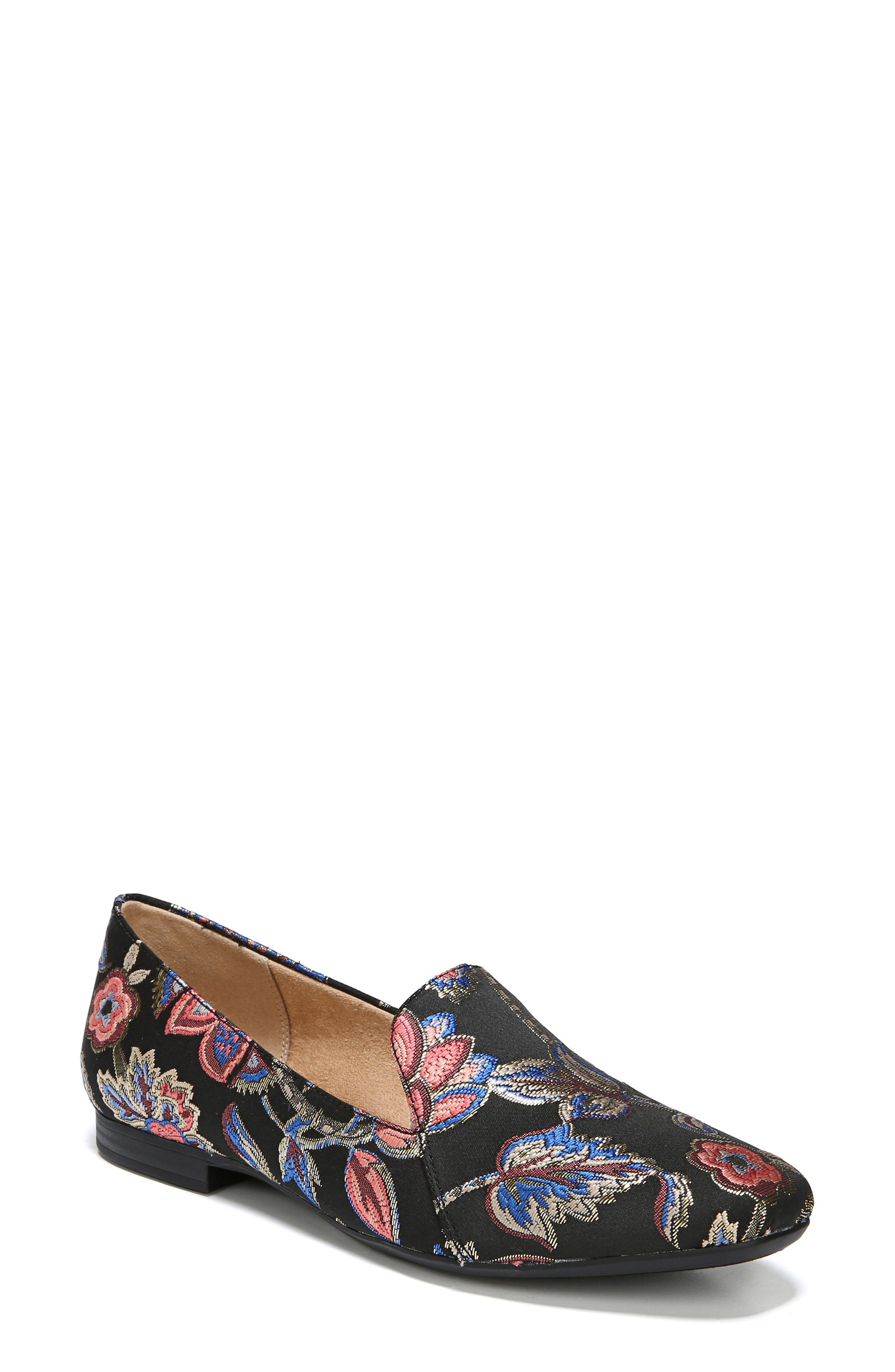 NATURALIZER, Emiline Flat Loafer, Main thumbnail 1, color, BROCADE