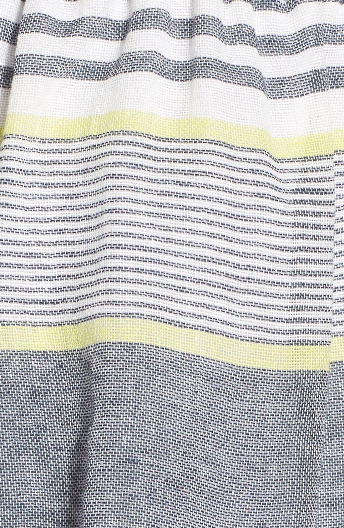 ASTR THE LABEL, ASTR 'Ibiza' Linen & Cotton Shorts, Alternate thumbnail 5, color, 250